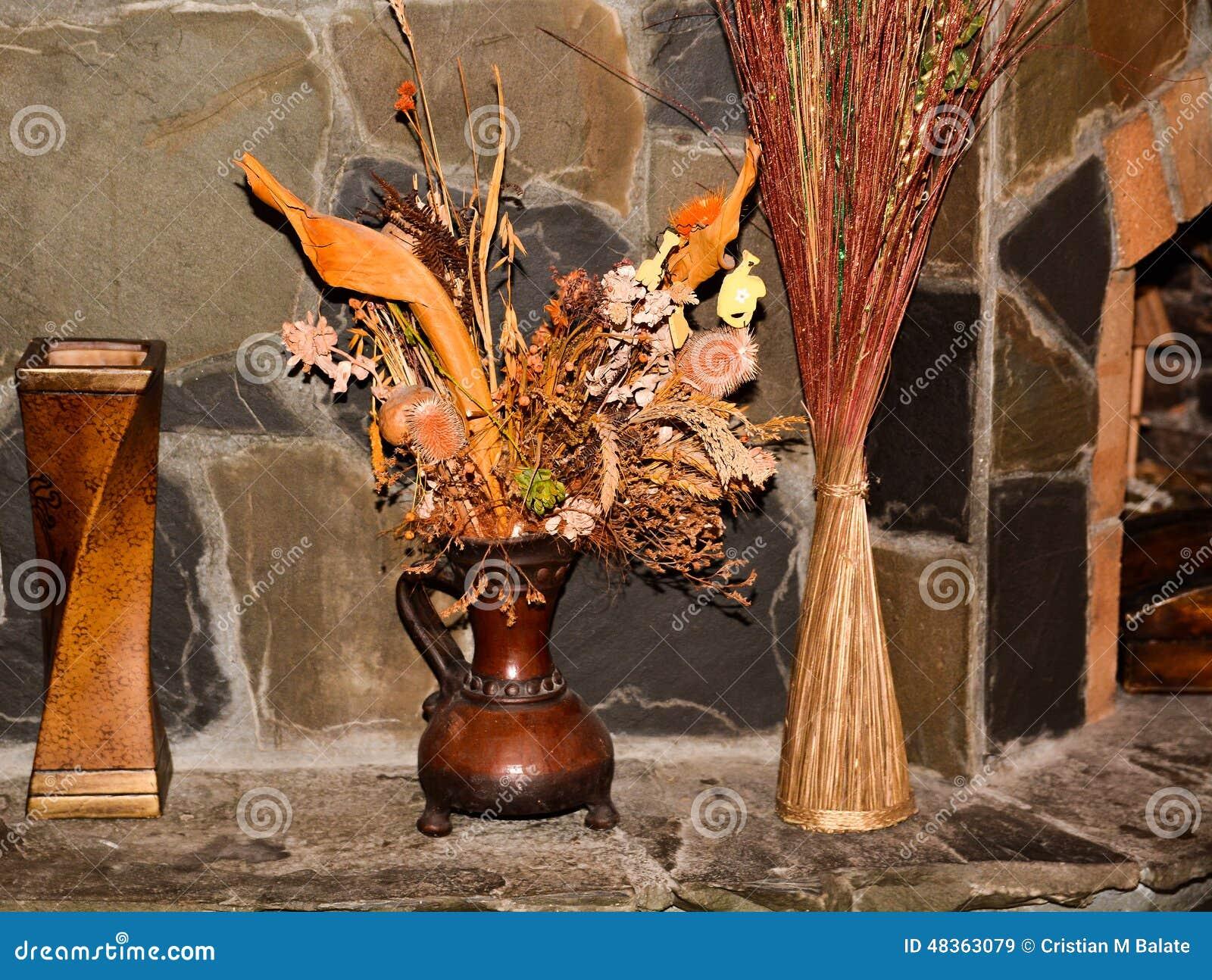 Ornamenti delle erbe secchi casa immagine stock immagine for Ornamenti casa