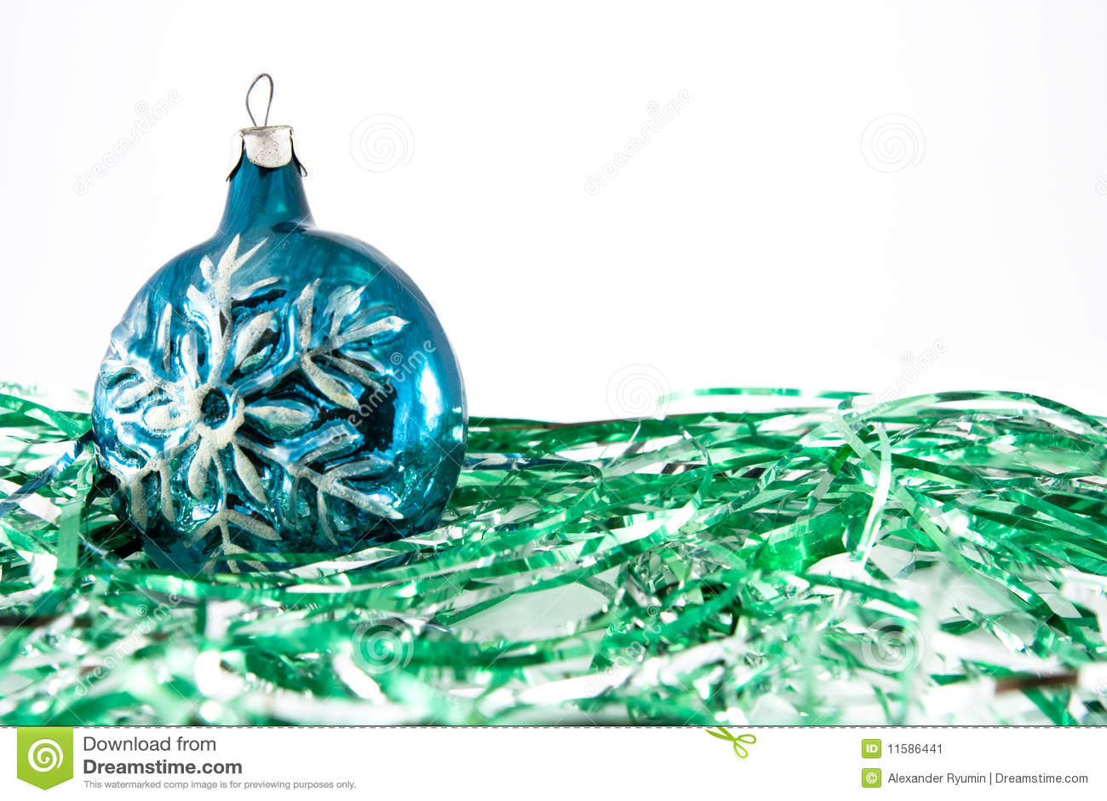 Ornamenti di natale del fiocco di neve
