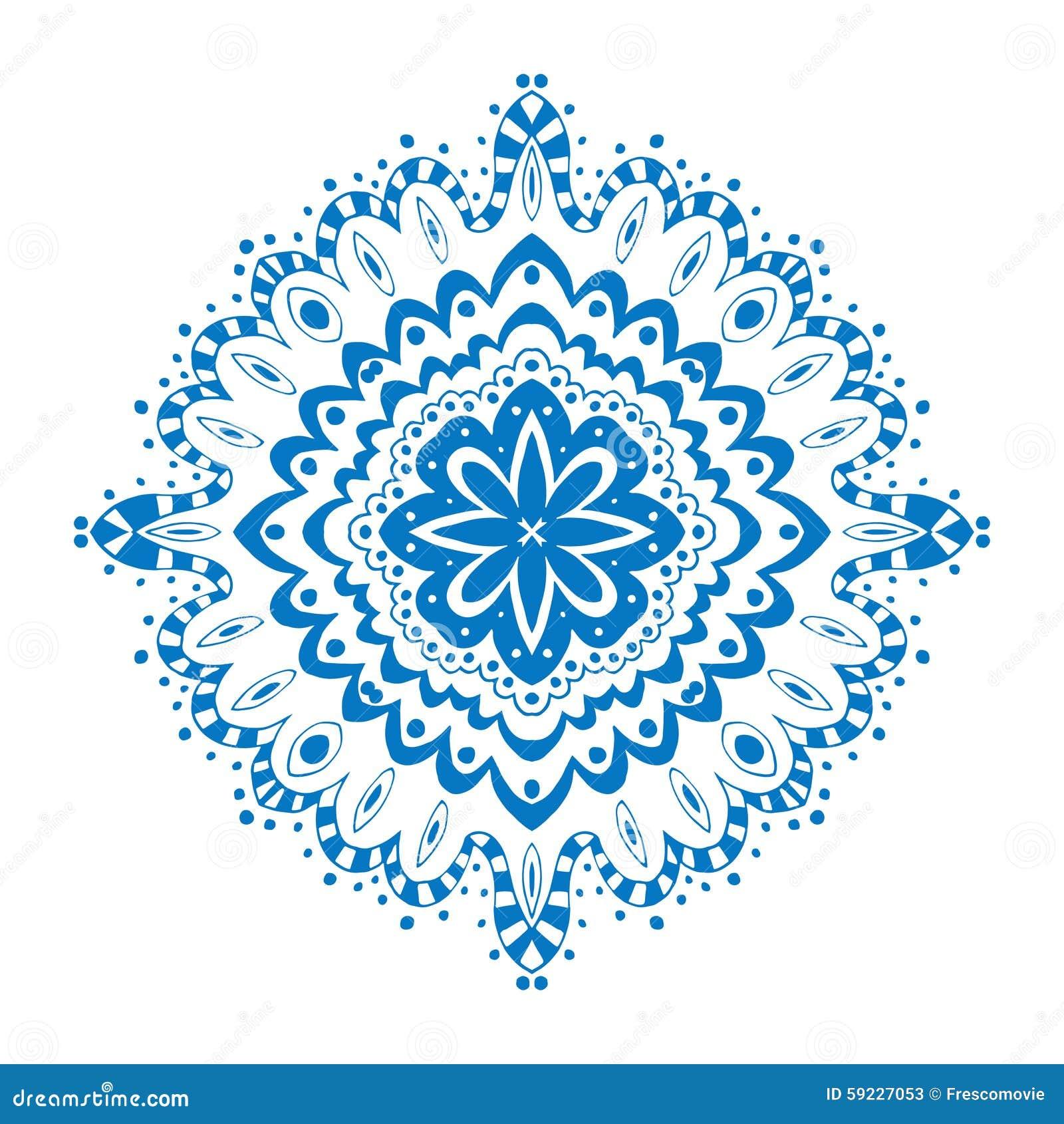 Download Ornamento ilustración del vector. Ilustración de manera - 59227053