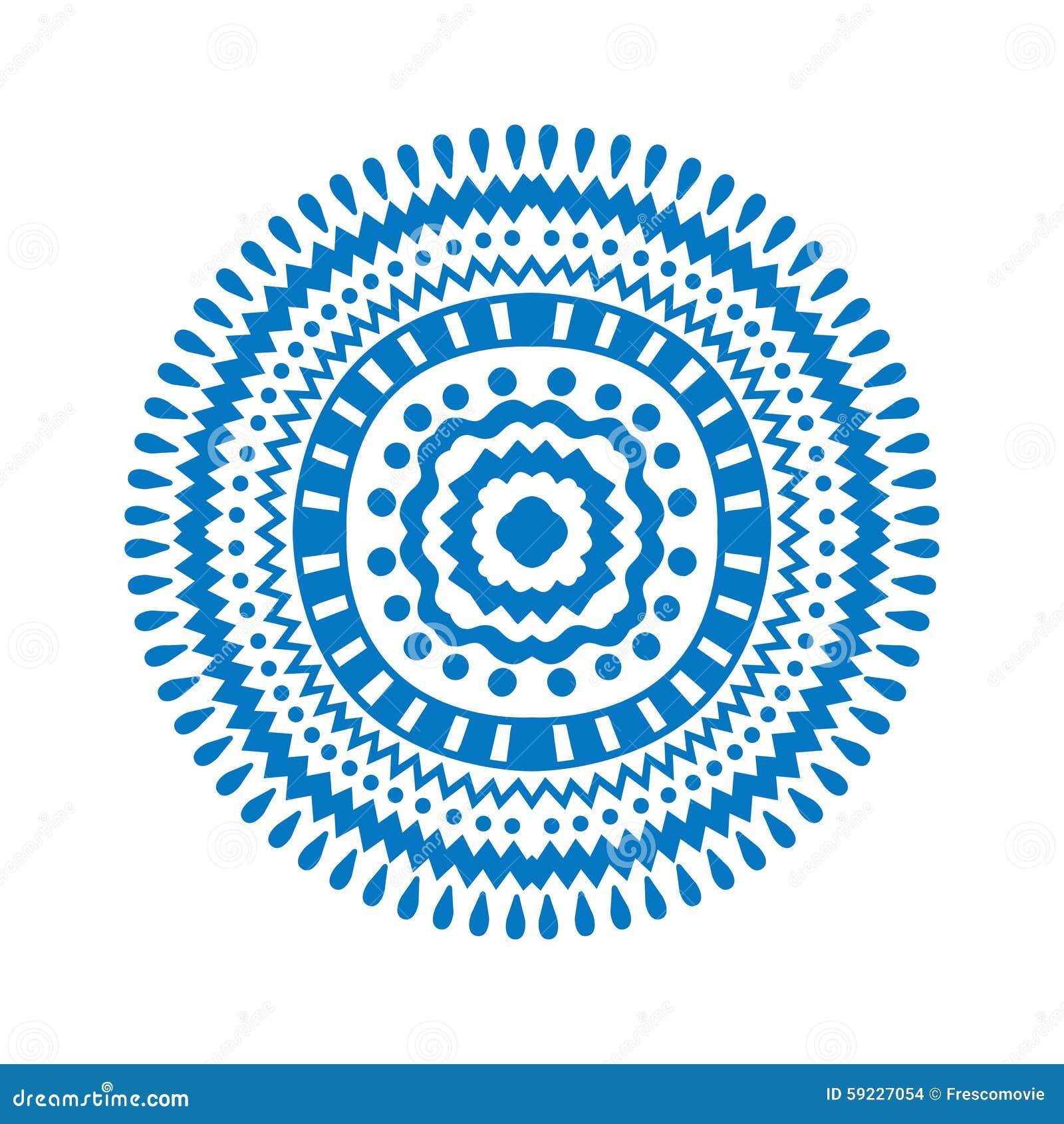 Download Ornamento ilustración del vector. Ilustración de alfombra - 59227054