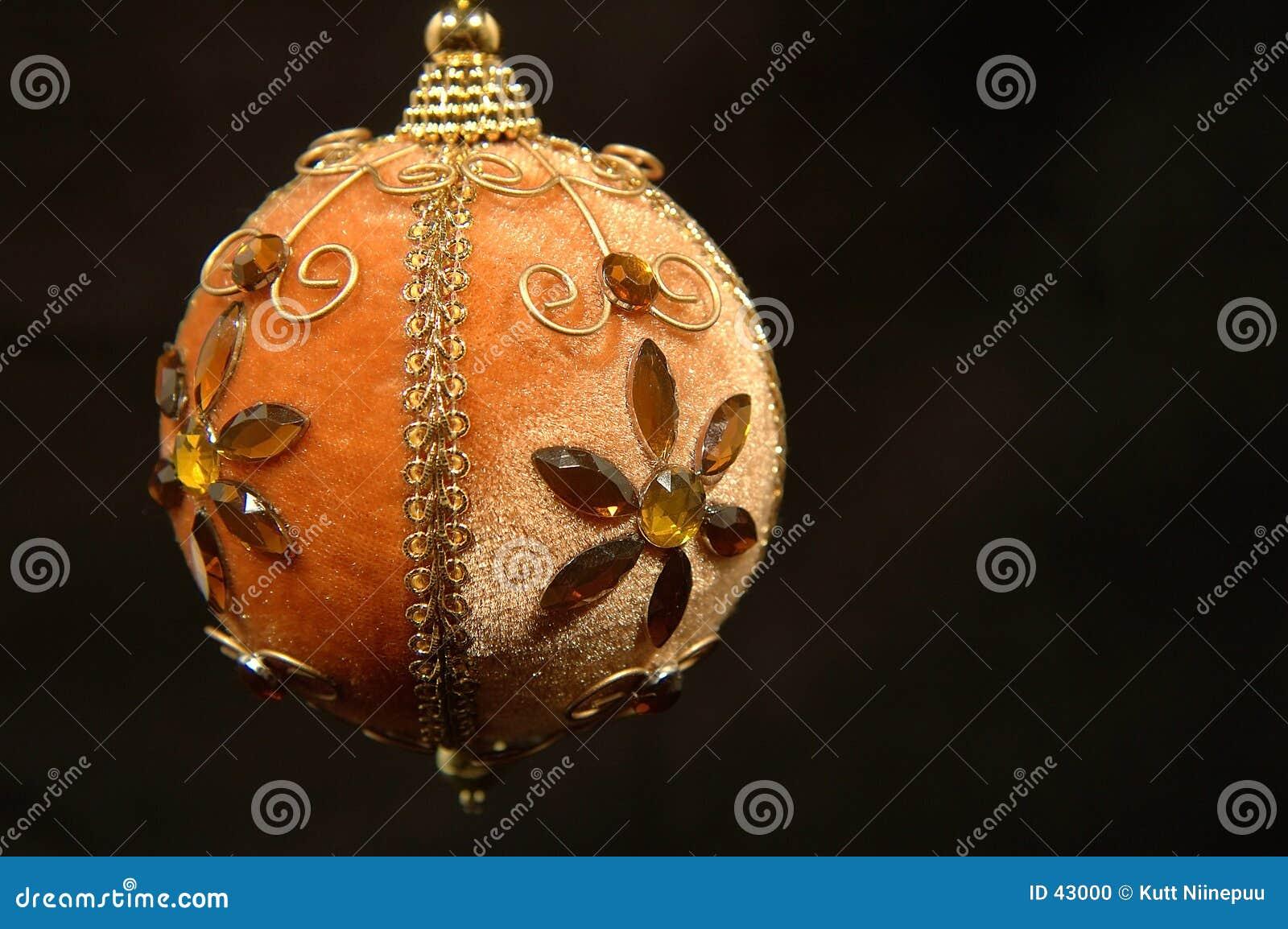 Download Ornamento de la Navidad foto de archivo. Imagen de primer - 43000