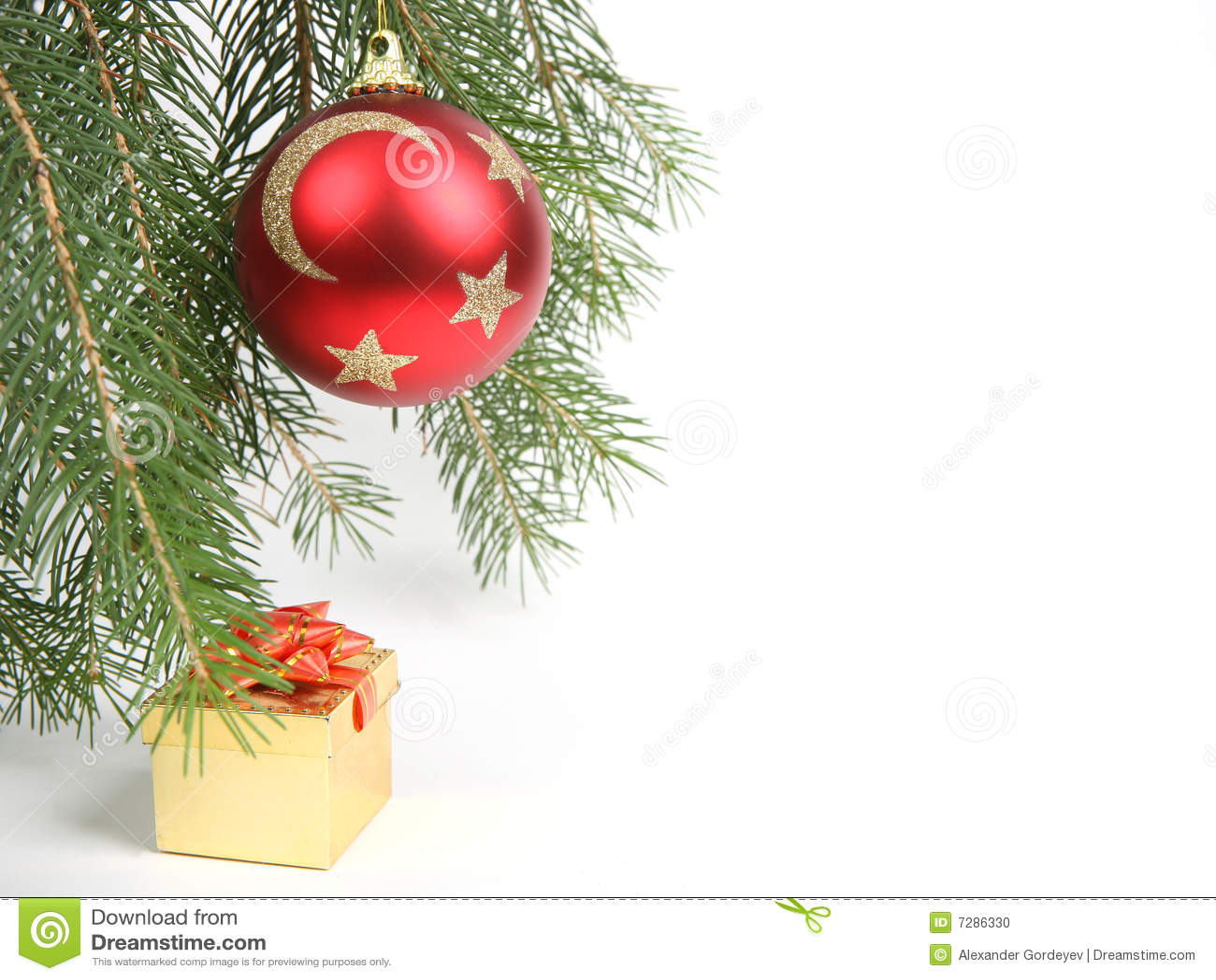 Ornamento de la Navidad