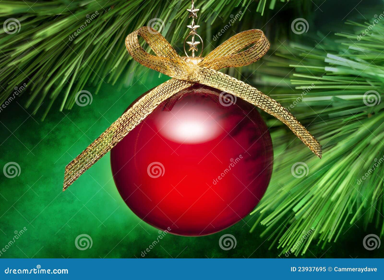 Ornamento de la ramificación del árbol de navidad