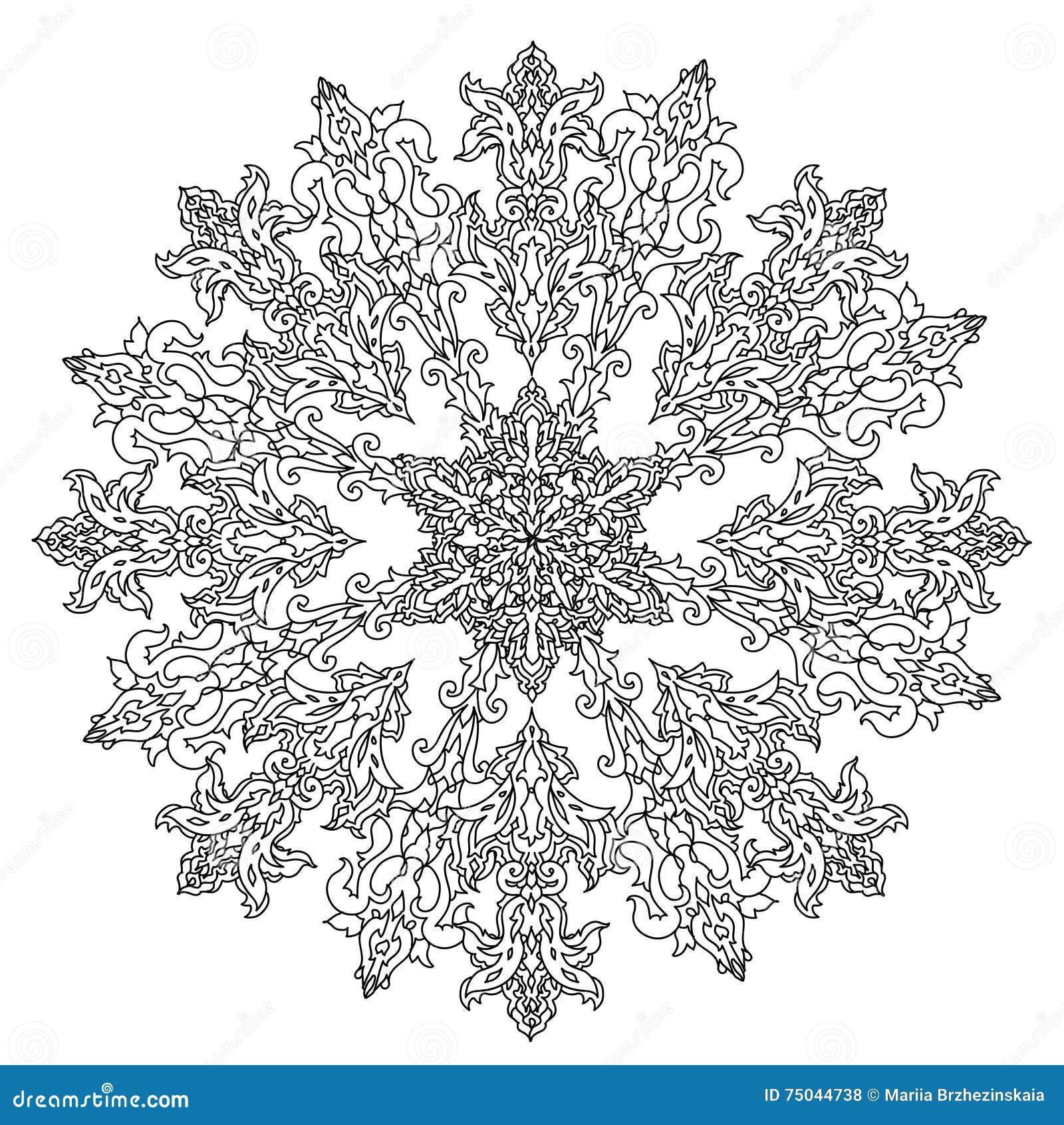 Ornamento De Las Bolas De La Navidad Del Círculo Ilustración del ...