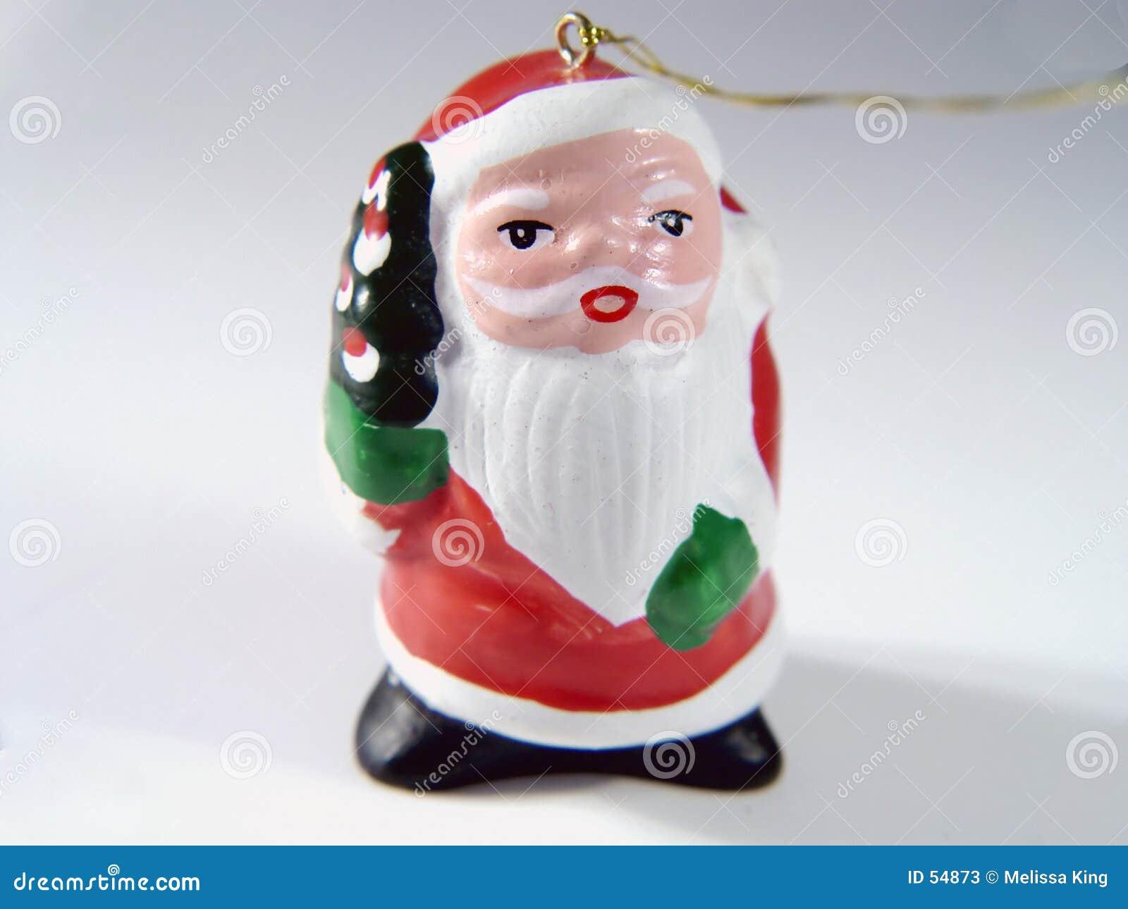 Ornamento de Santa