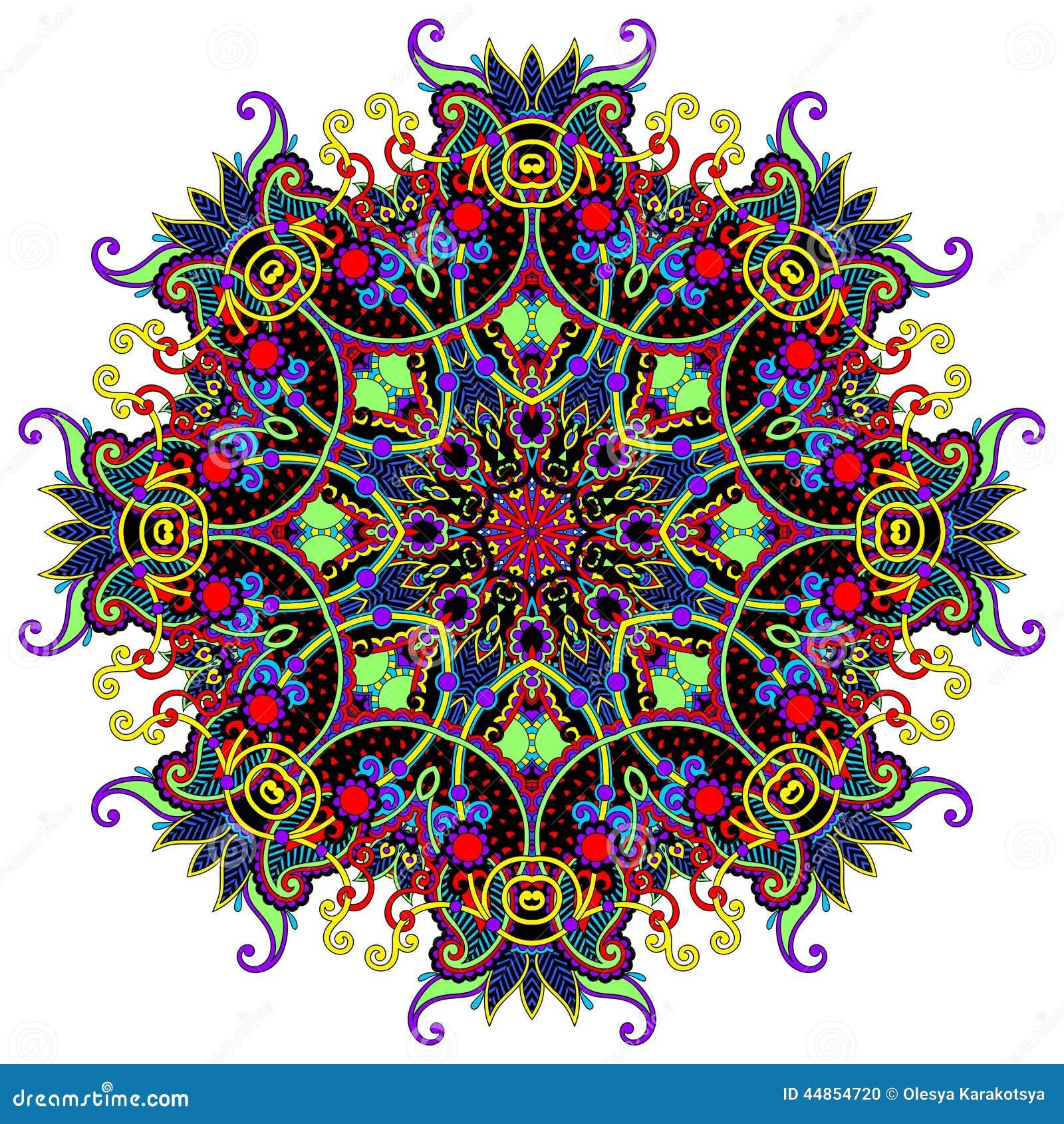 Download Ornamento Del Cordón Del Círculo, Geométrico Ornamental Redondo Ilustración del Vector - Ilustración de gráfico, antiguo: 44854720