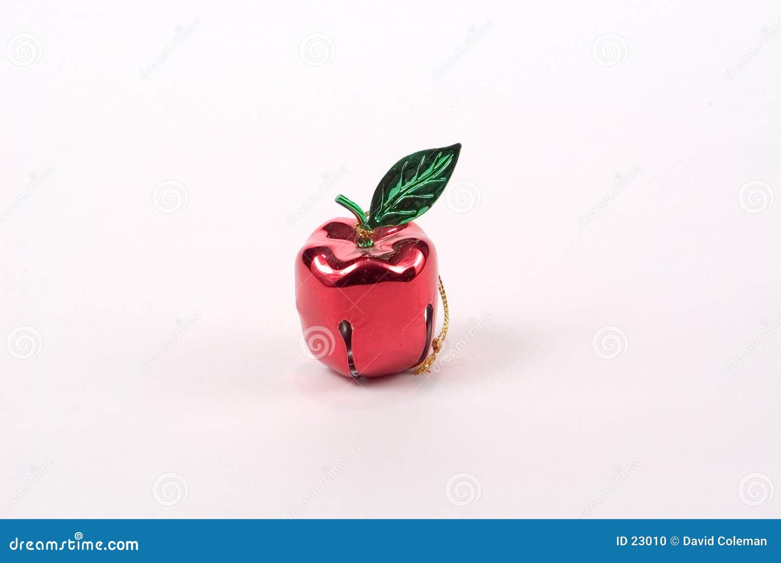 Ornamento dell albero del Apple Bell