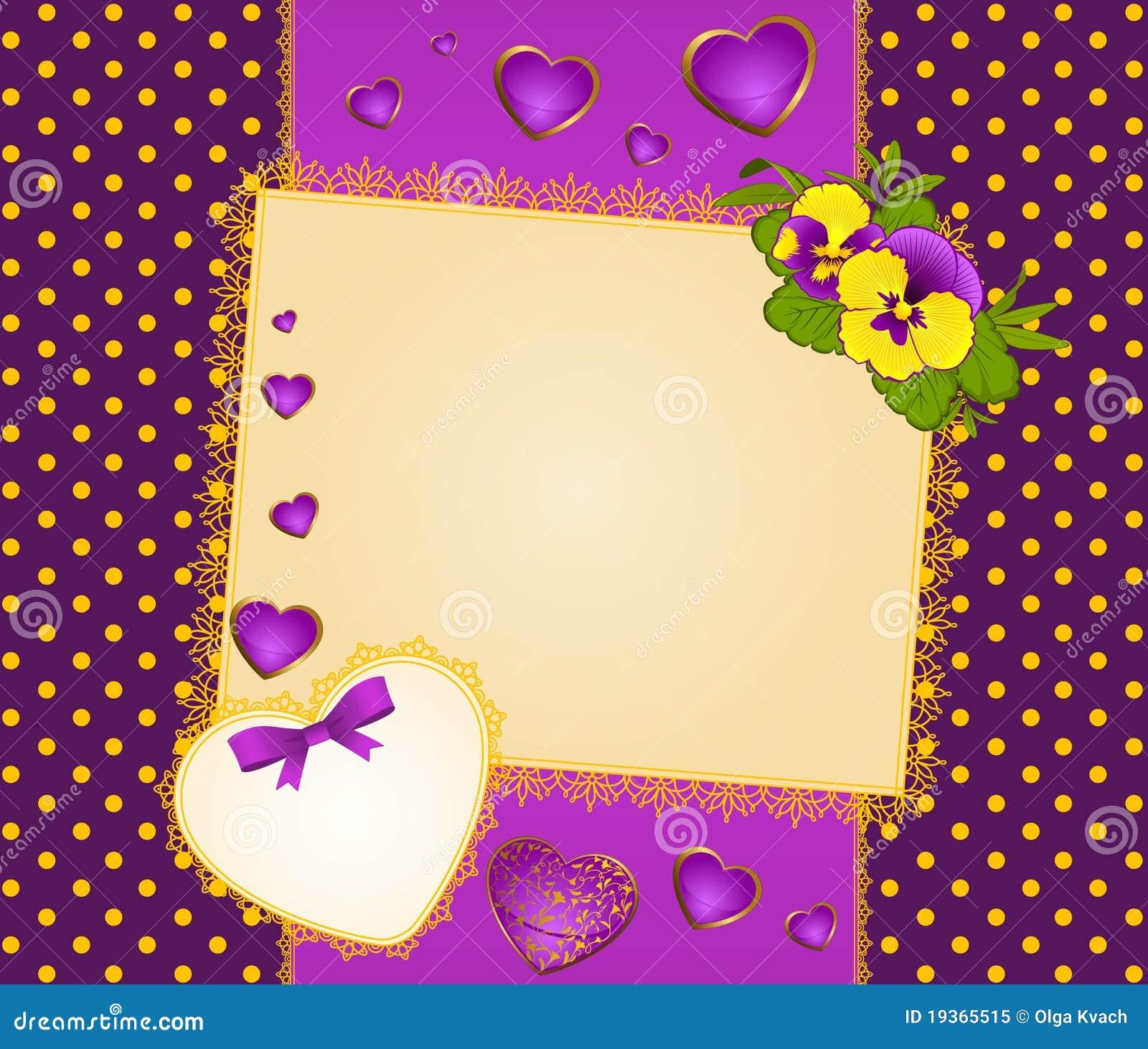 Ornamento e coração do laço