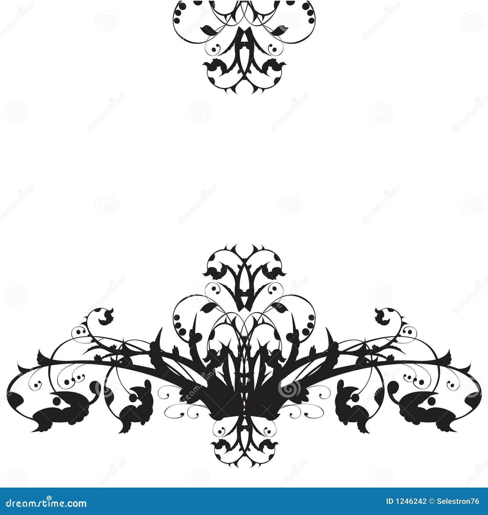 Ornamento floral