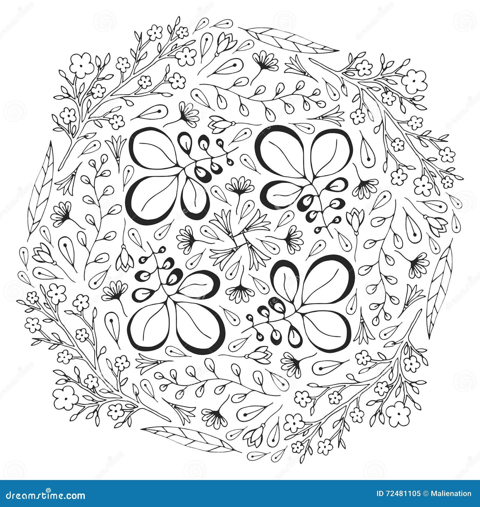 Atractivo Diseño De Círculo Para Colorear Inspiración - Enmarcado ...