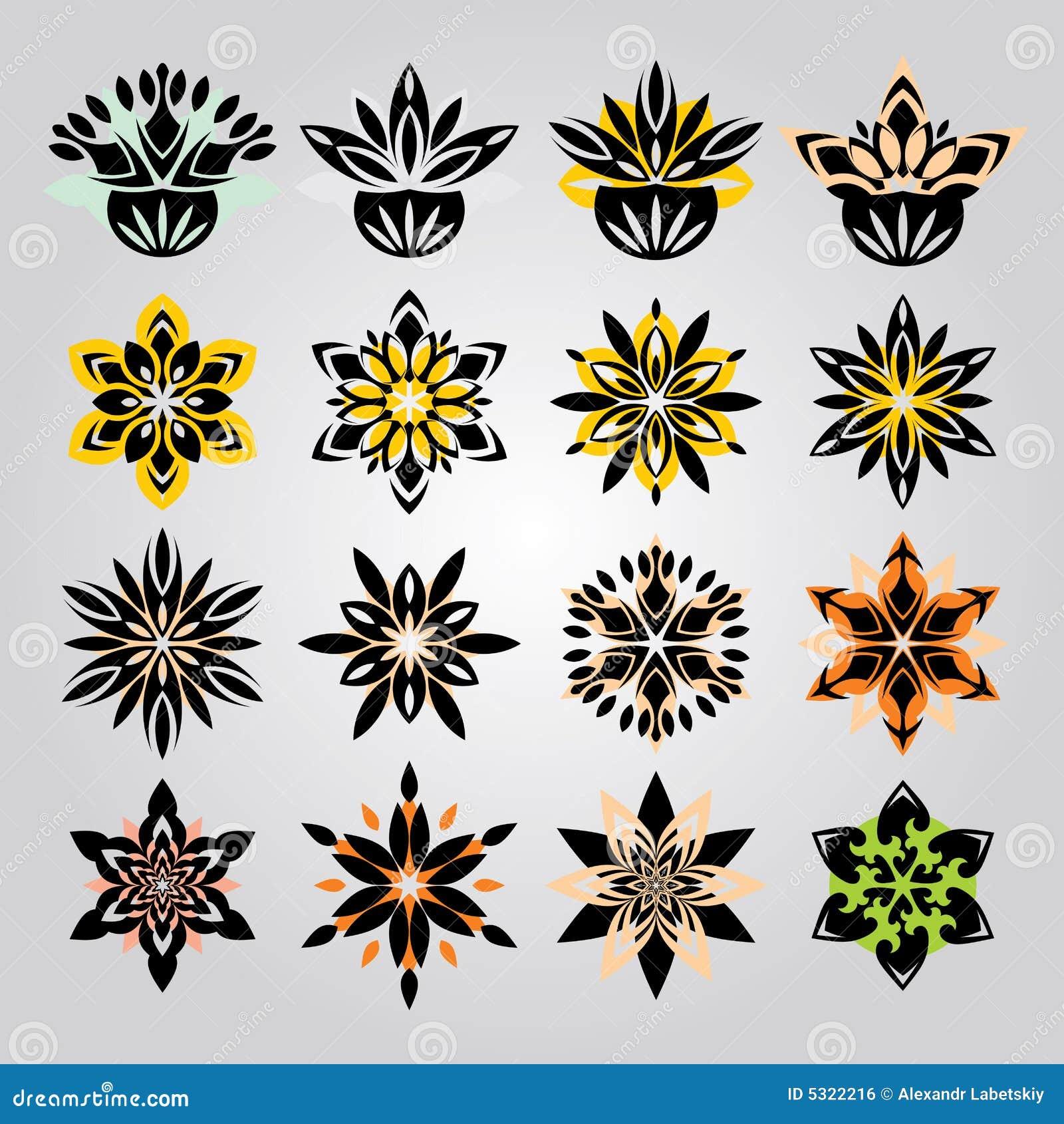 Download Ornamento floreale illustrazione vettoriale. Illustrazione di immagine - 5322216