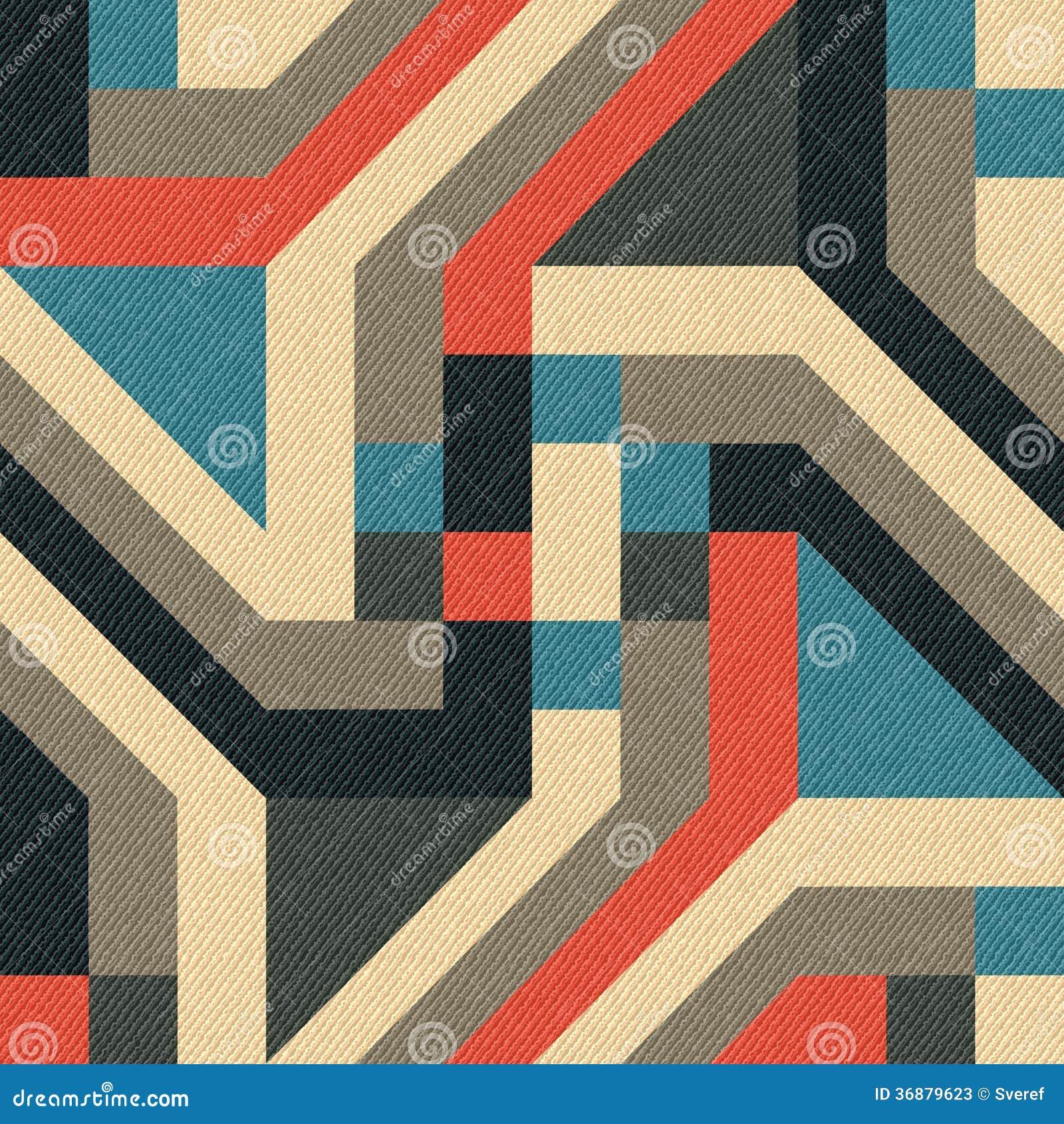 Download Ornamento geometrico illustrazione vettoriale. Illustrazione di geometrico - 36879623