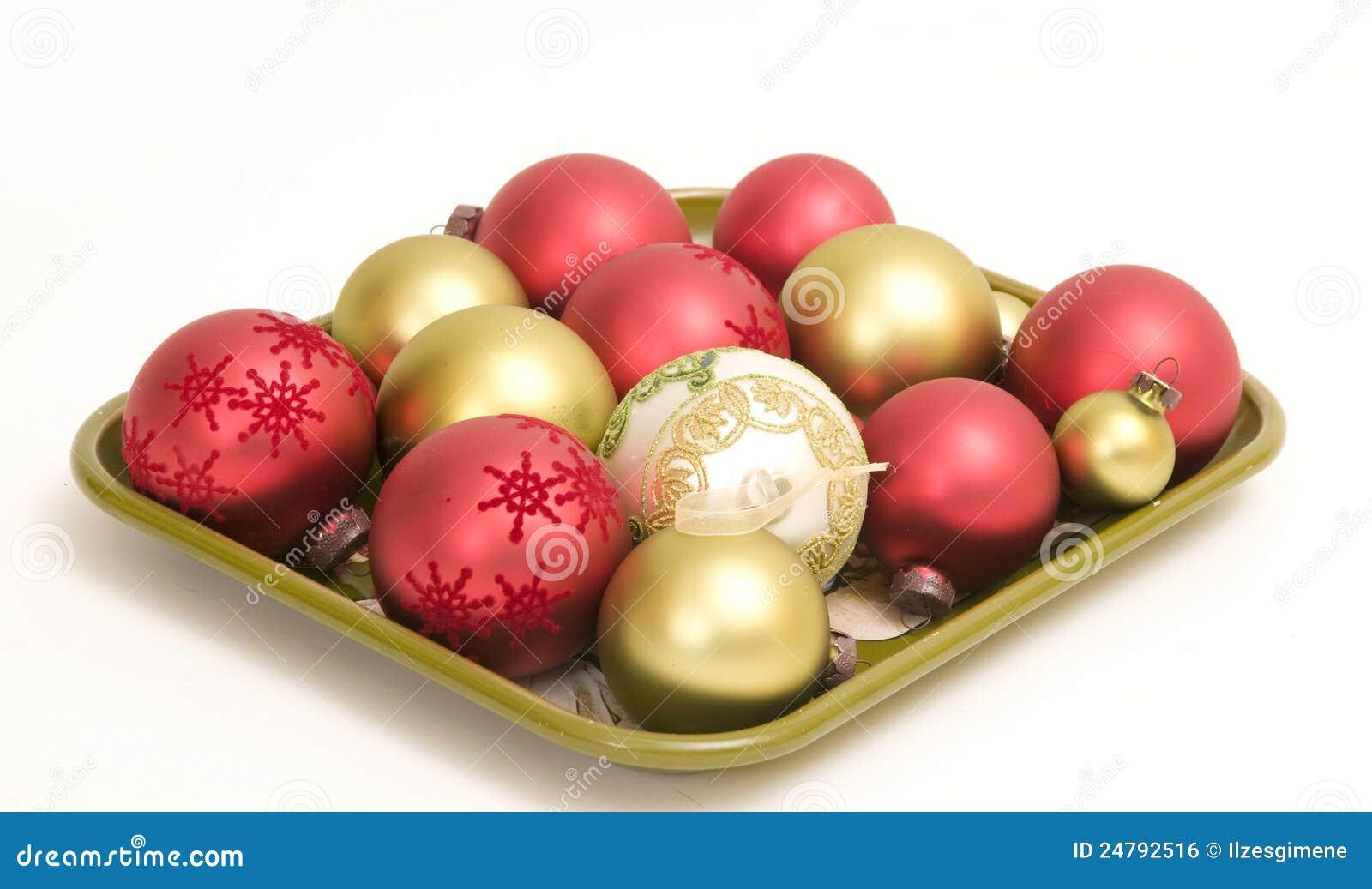 Ornamentos de la navidad imagen de archivo libre de - Ornamentos de navidad ...
