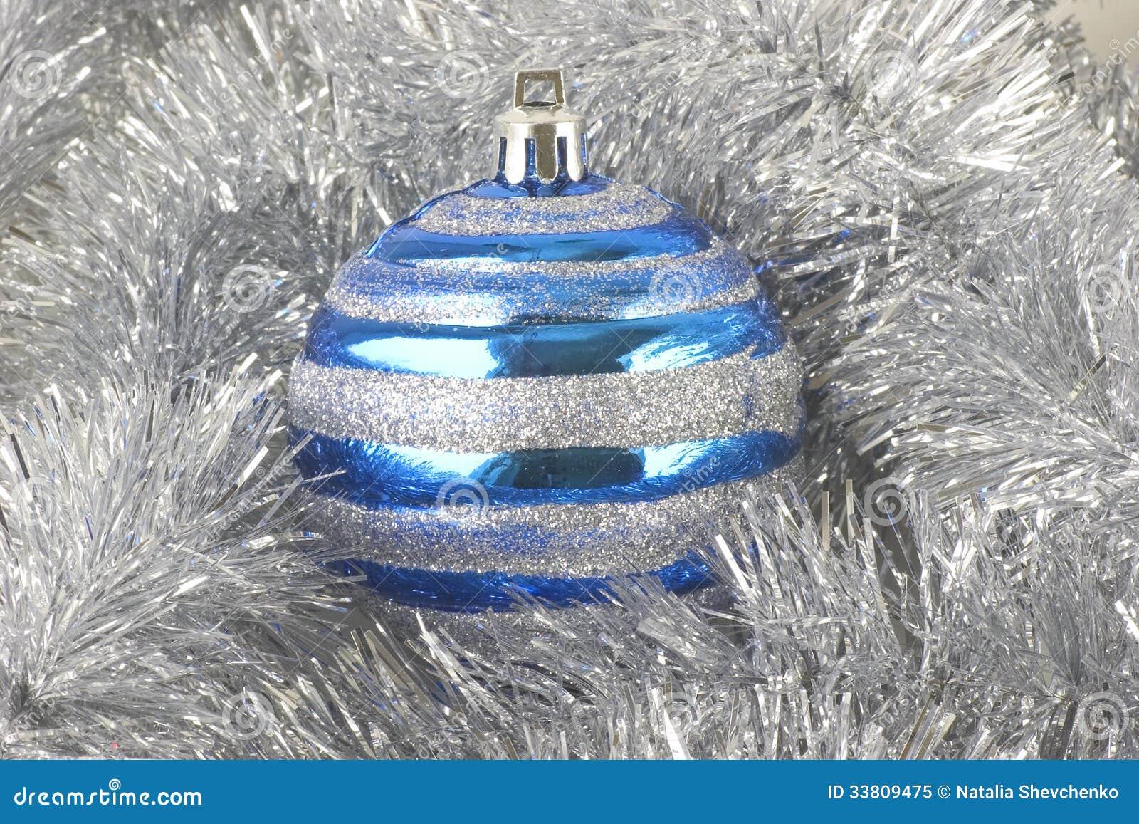 Ornamentos de la navidad esfera azul - Ornamentos de navidad ...