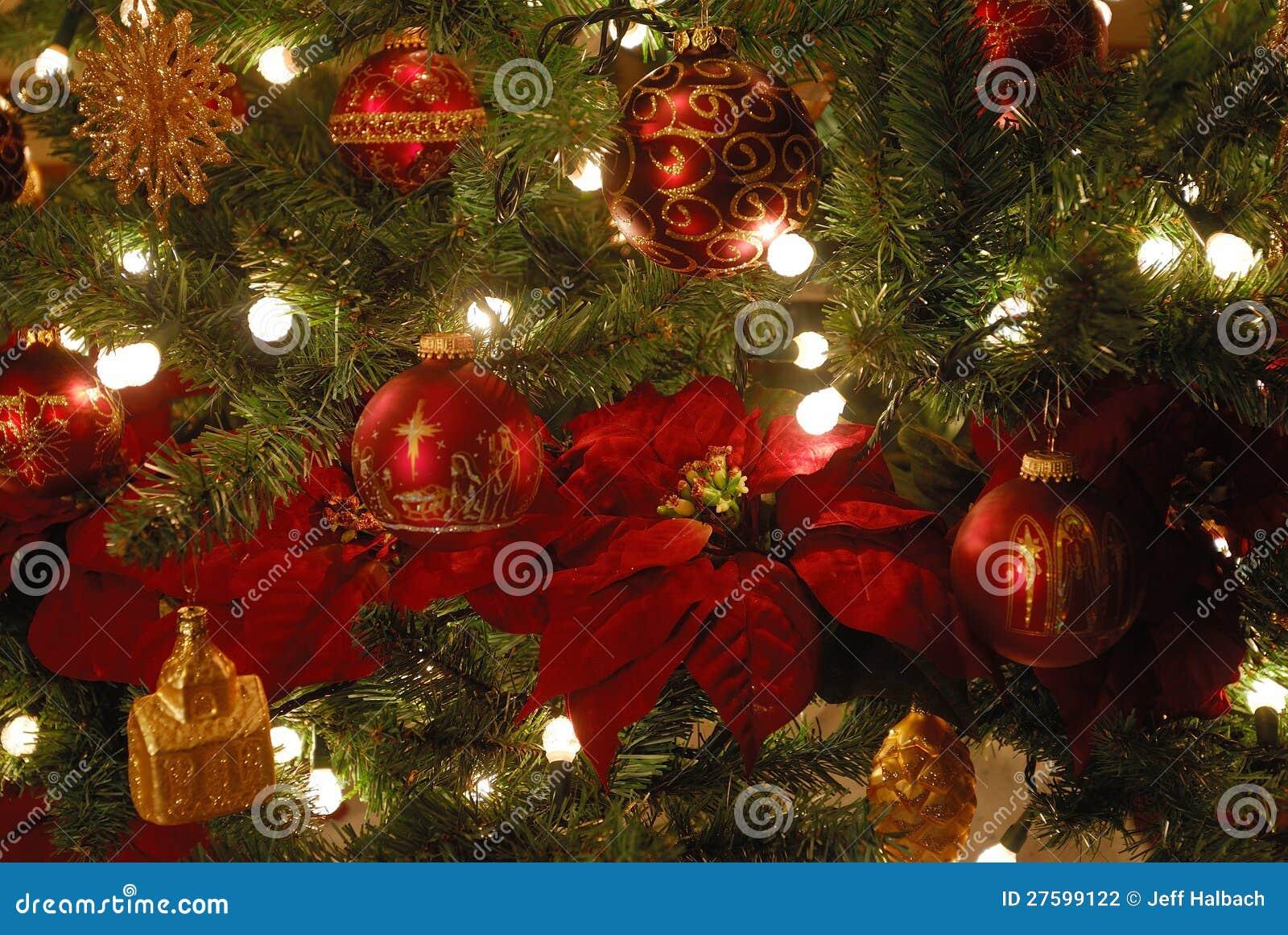 Ornamentos del árbol de navidad