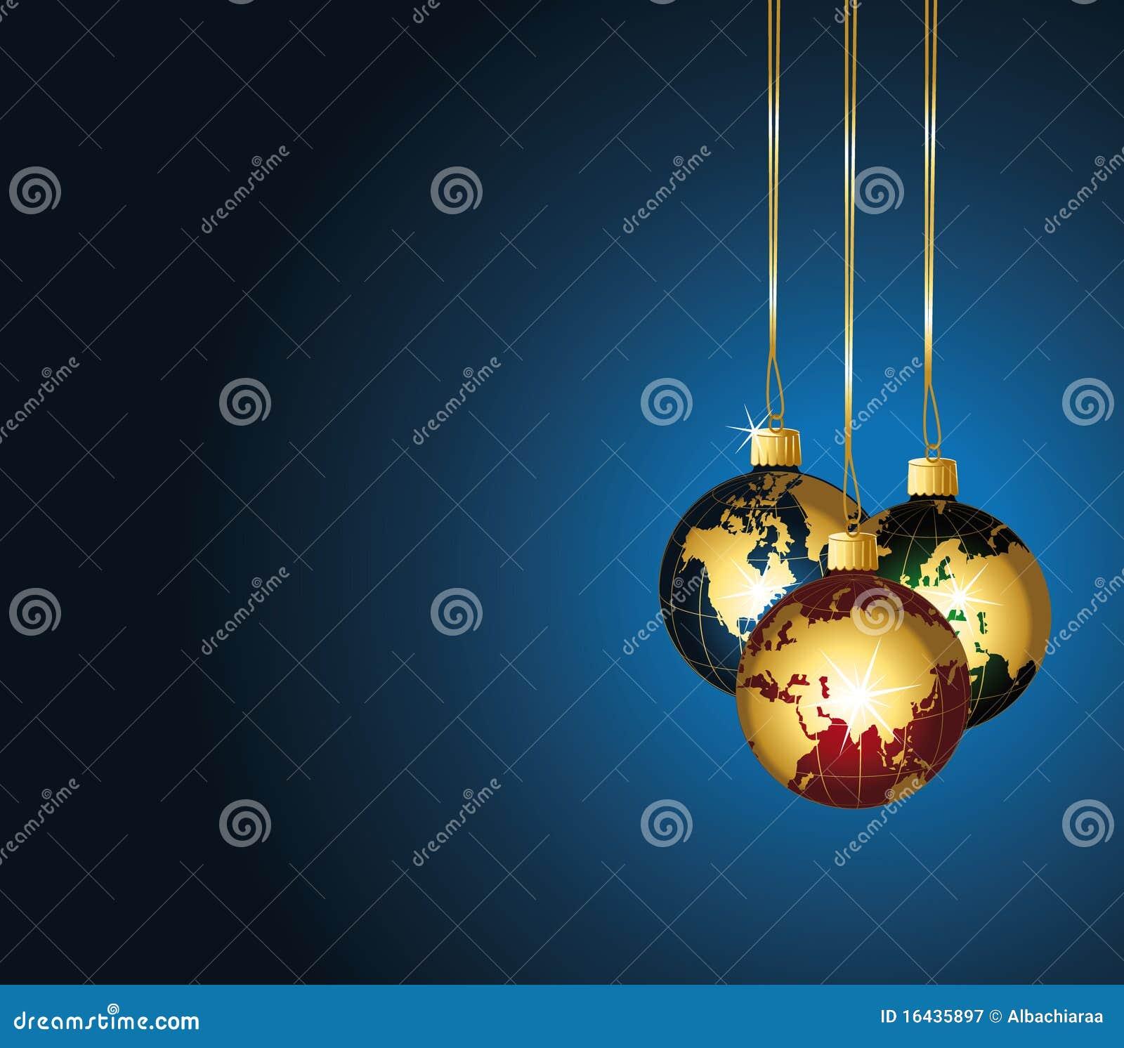 Ornamentos del mundo de la navidad fotograf a de archivo - Ornamentos de navidad ...