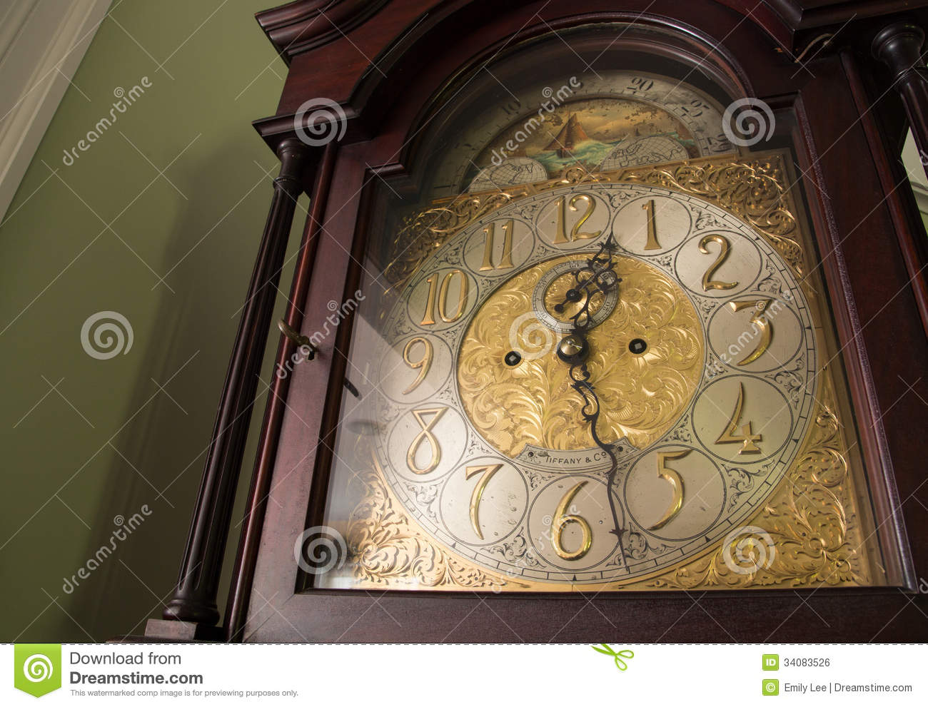 grandfather clock face tattoo. 4 ornate antique clock royalty free stock image 34083526 grandfather face tattoo