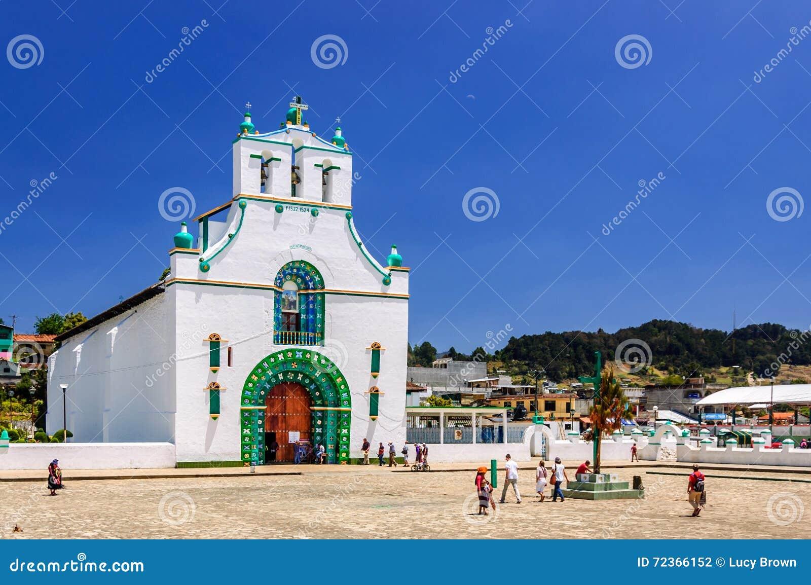 Ornate church, Chamula, Mexico