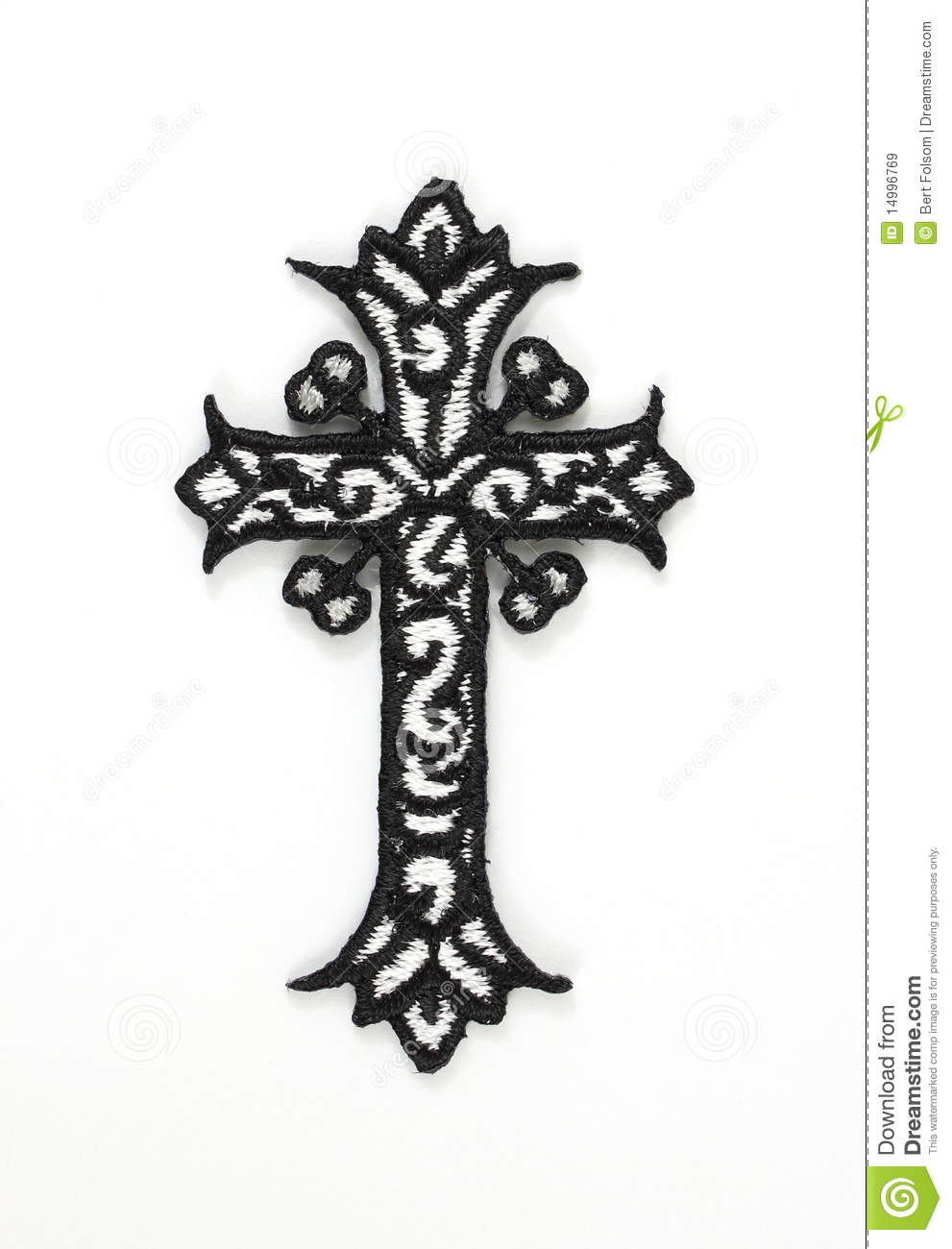 Ornate Cross Royalty Free Stock Images Image 14996769