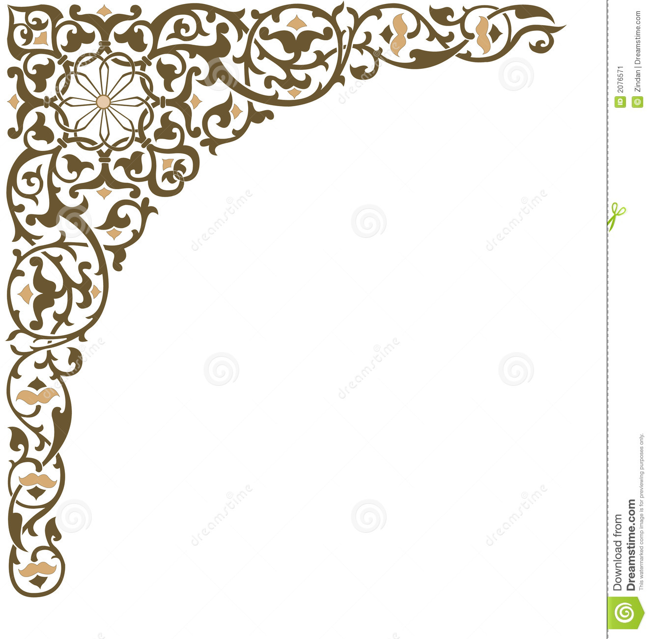 more similar stock images of ornate frame corner