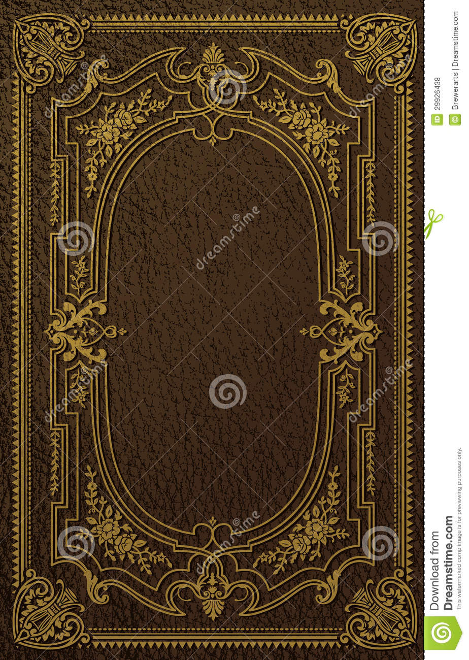 Old Book Cover Ideas : Classical book cover stock vector illustration of binding