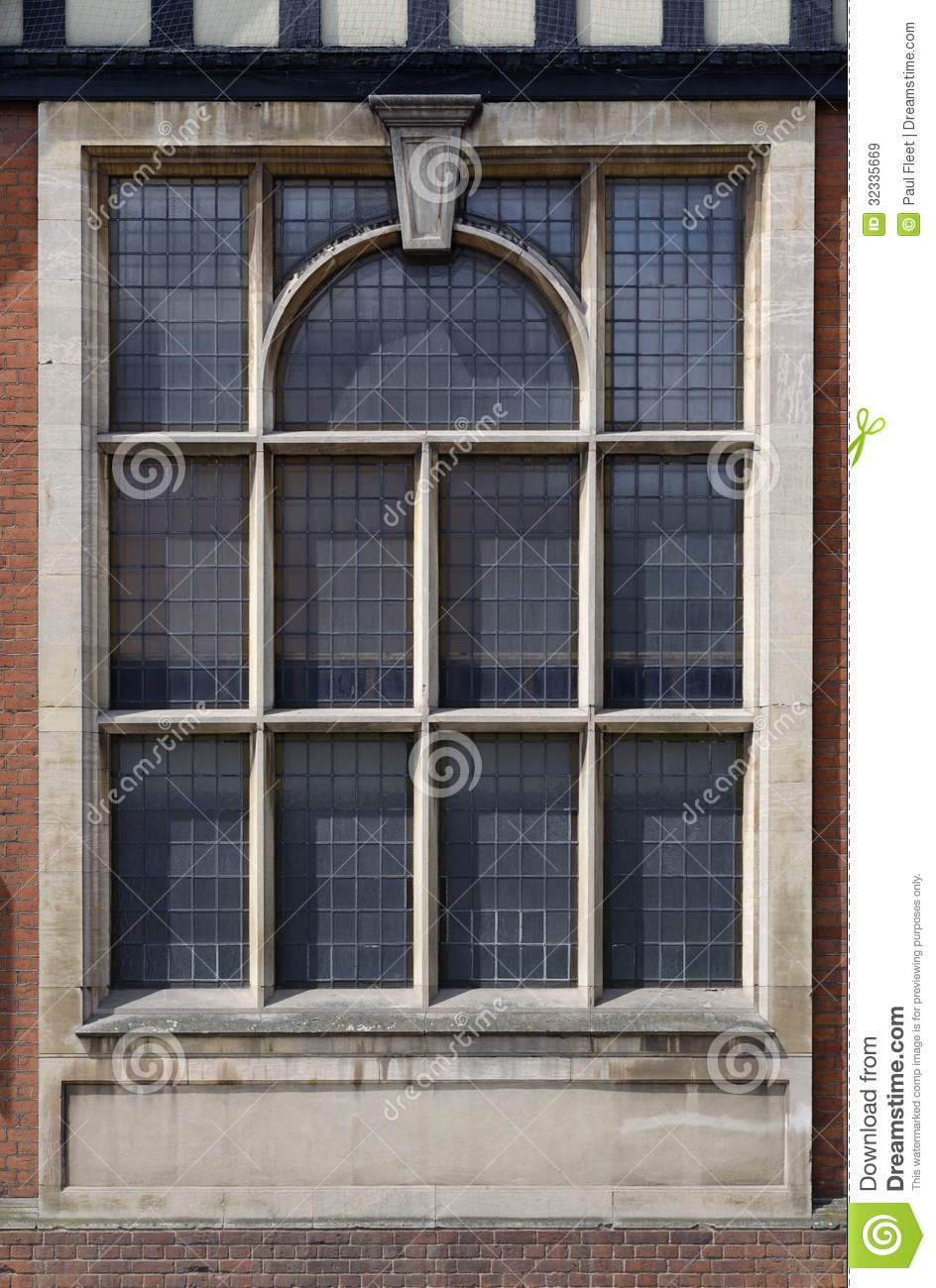 Ornate Leaded Window Royalty Free Stock Images Image