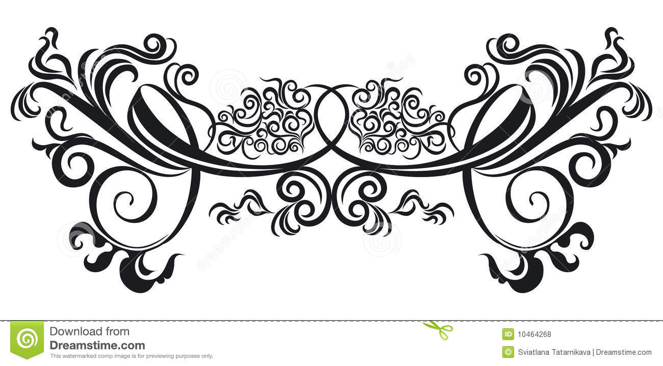 ornate scroll stock vector illustration of graphic ornate 10464268