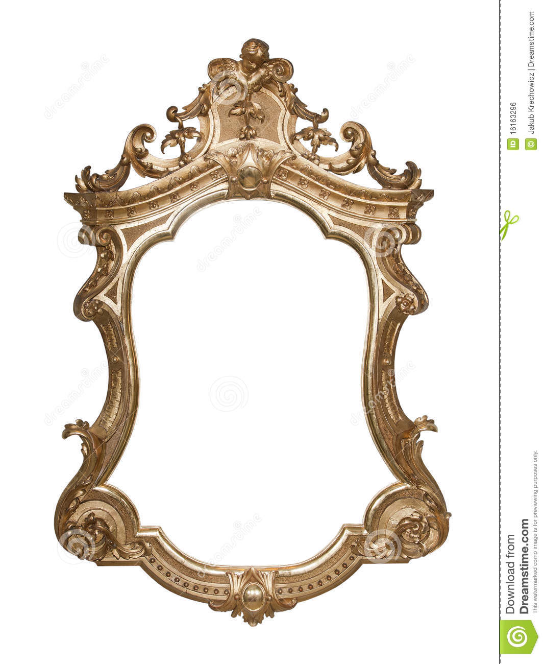 Ornate vintage frame stock photo image of deco for How to make vintage frames