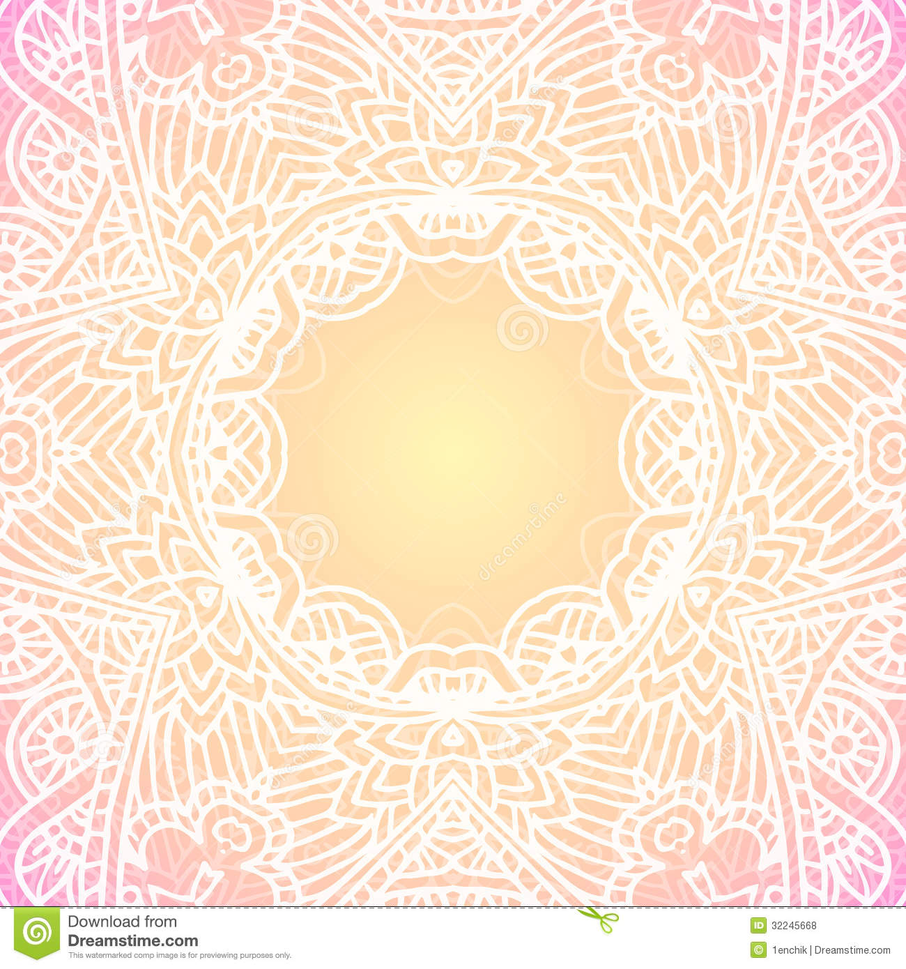 Ornate vintage vector background in mehndi style royalty free stock - Royalty Free Stock Photo Download Ornate Vintage Vector Background In Mehndi Style
