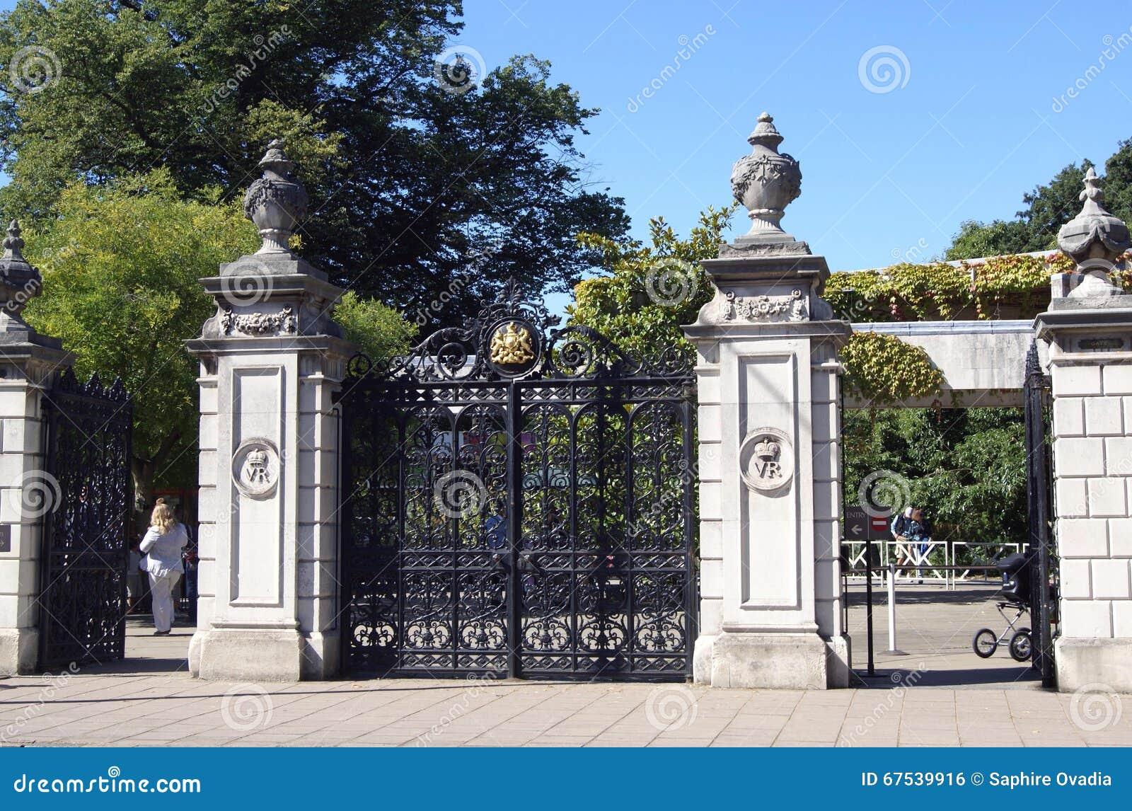 ornate wrought iron gate. editorial stock photo download ornate wrought iron gate