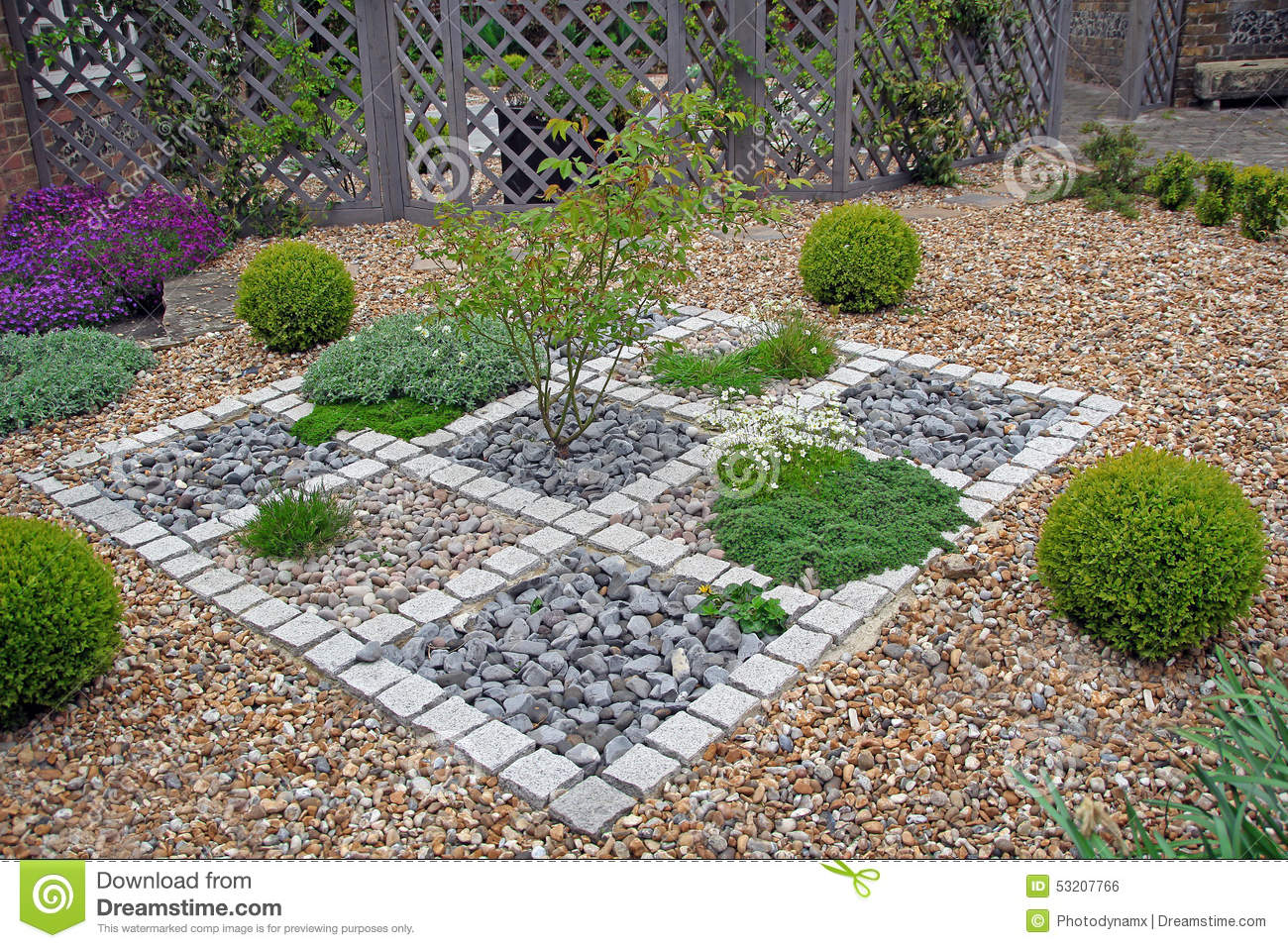 High Quality Royalty Free Stock Photo. Download Ornate Zen Garden ...