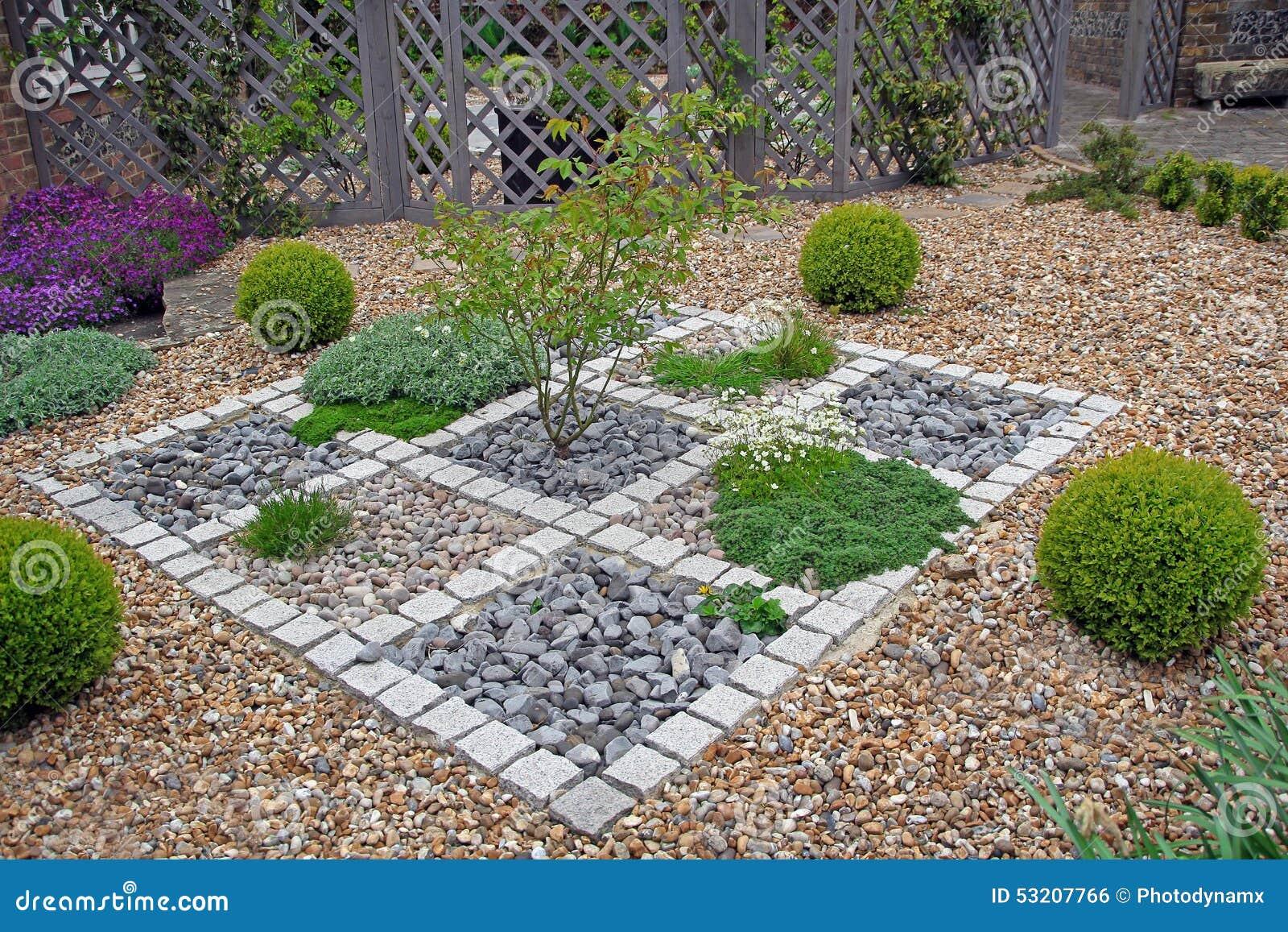 Ornate Zen Garden Stock Photo Image 53207766