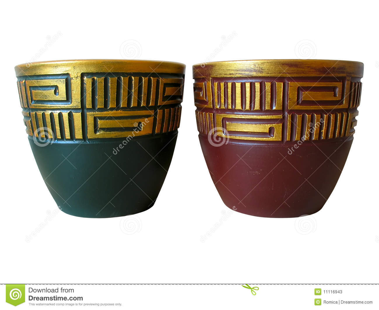 Clay Pot With Milk And Flower Royalty Free Stock