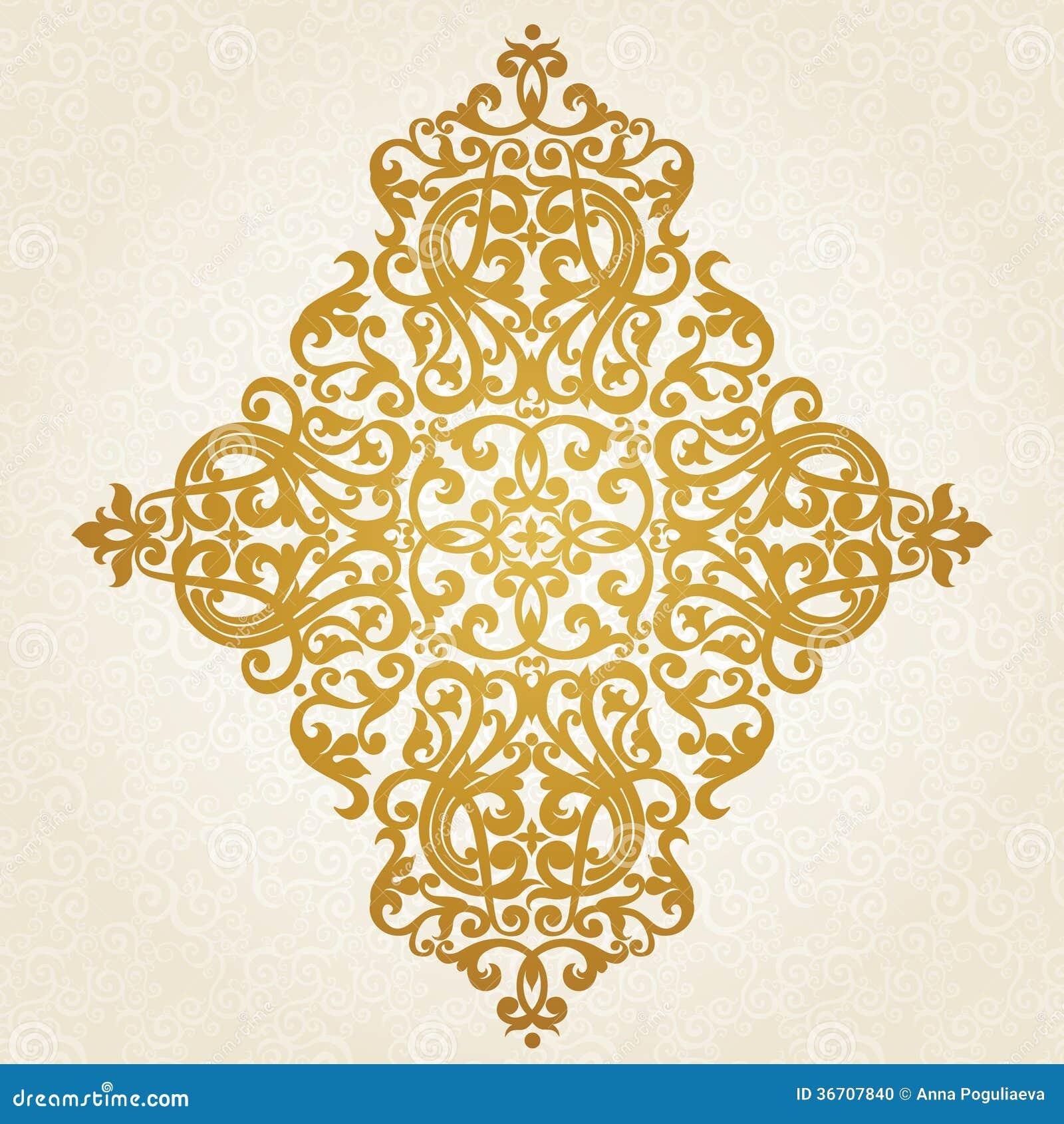 ornement baroque de vecteur dans le style victorien photo stock image 36707840. Black Bedroom Furniture Sets. Home Design Ideas