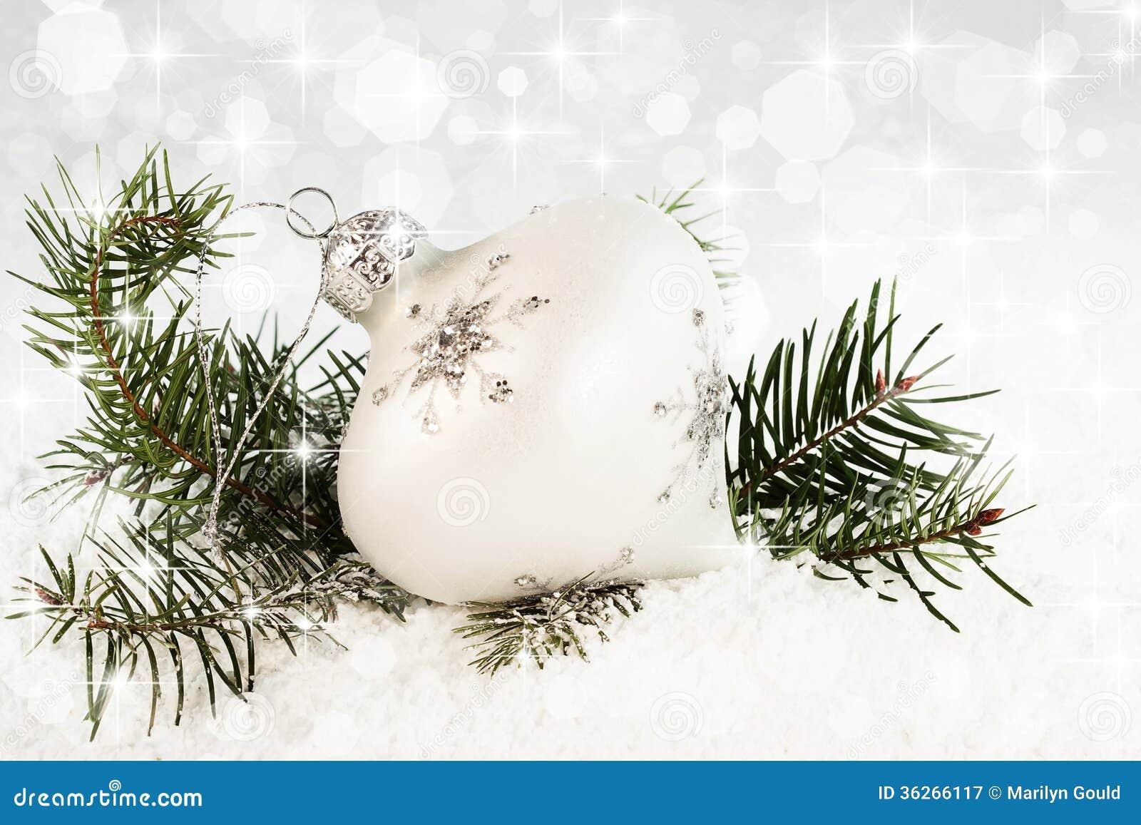 Ornement de Noël de flocon de neige