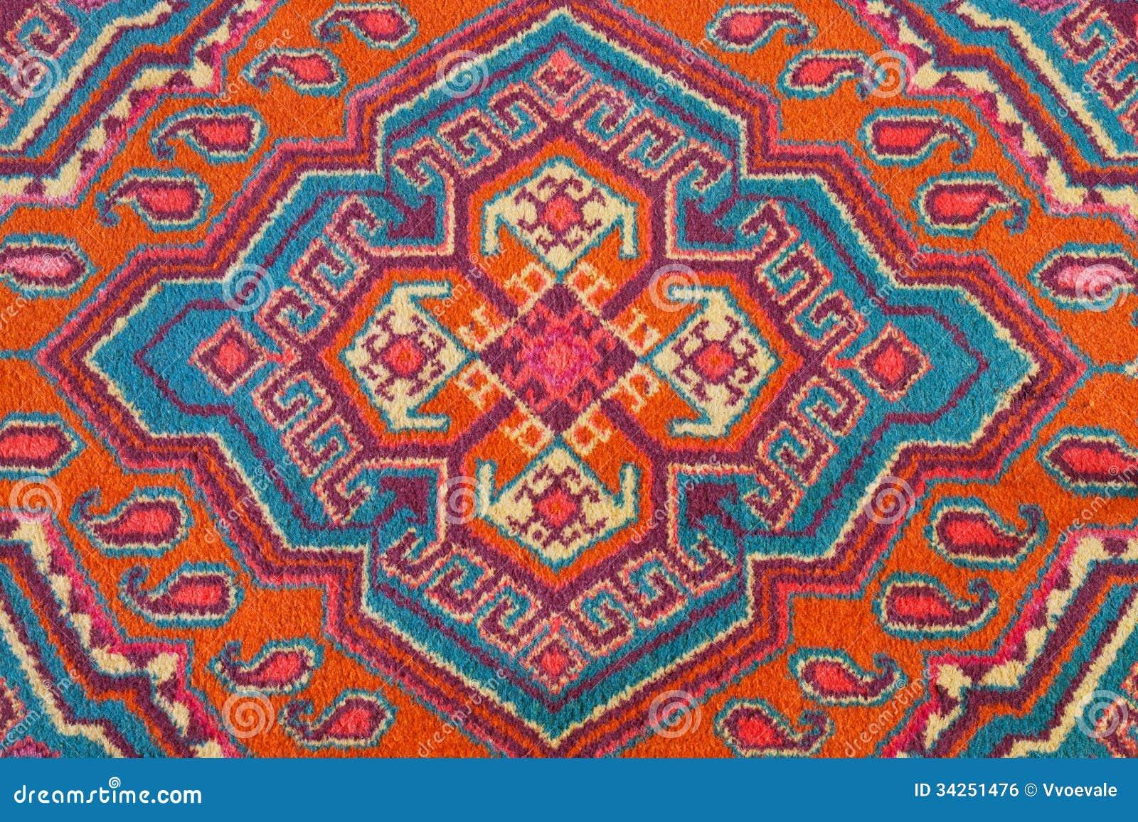 ornement de tapis asiatique central image libre de droits image 34251476. Black Bedroom Furniture Sets. Home Design Ideas