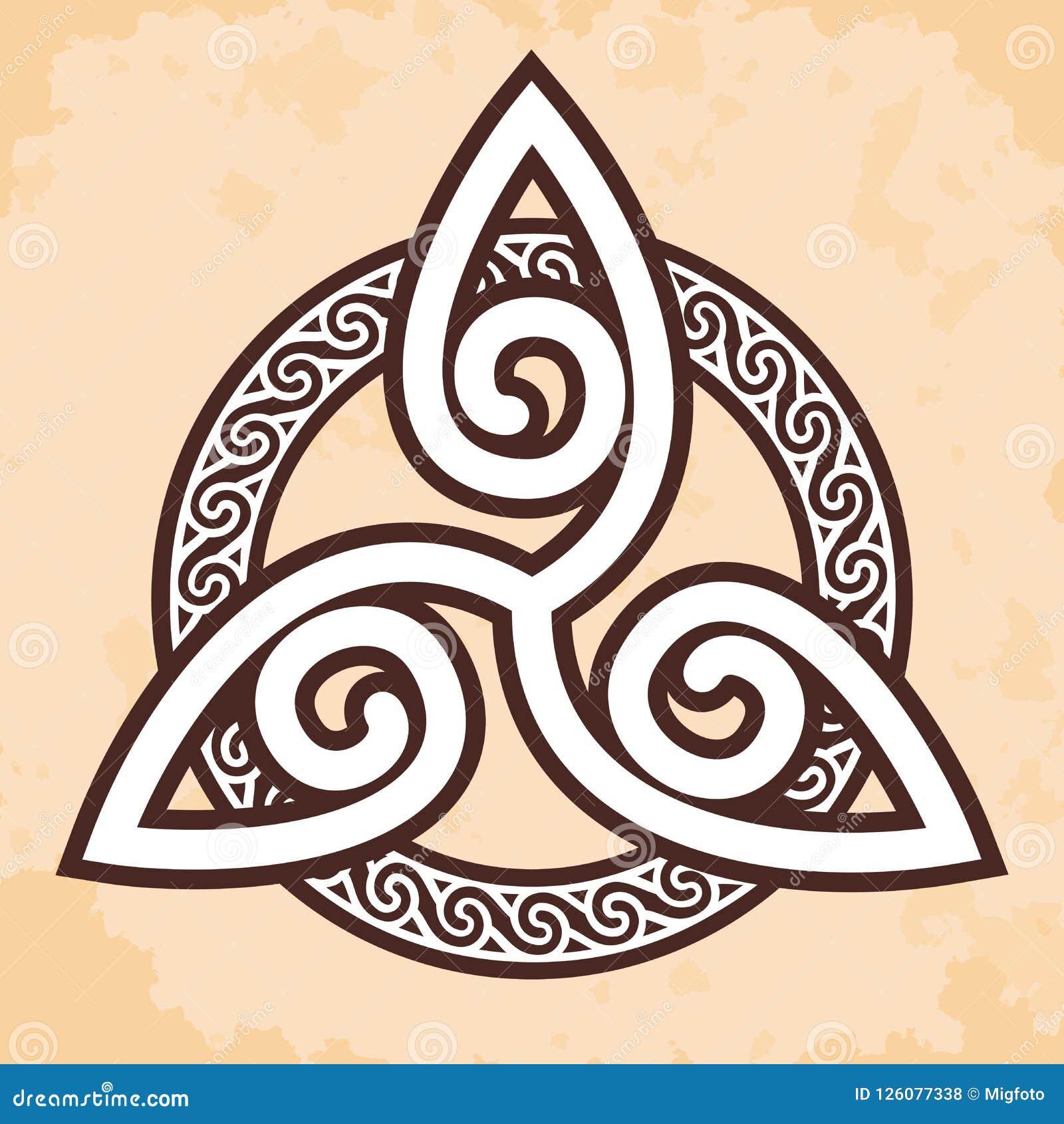Ornement national celtique