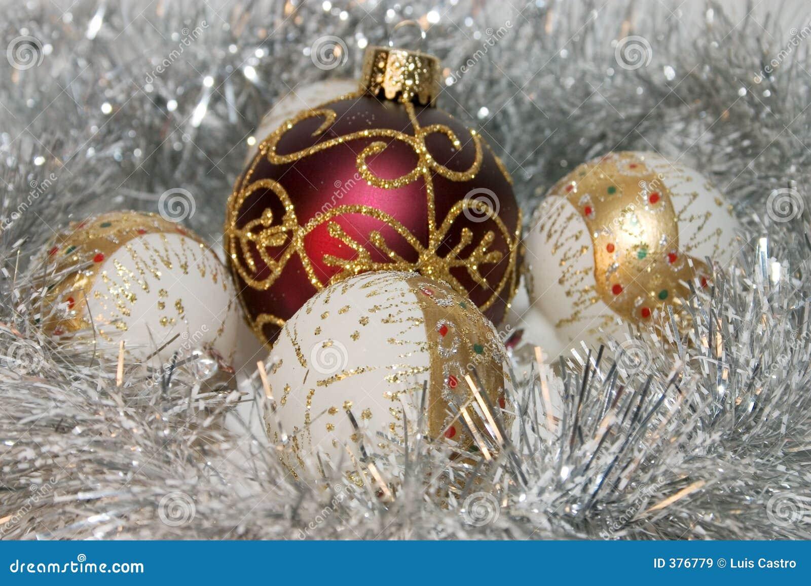 Ornements d arbre de Noël