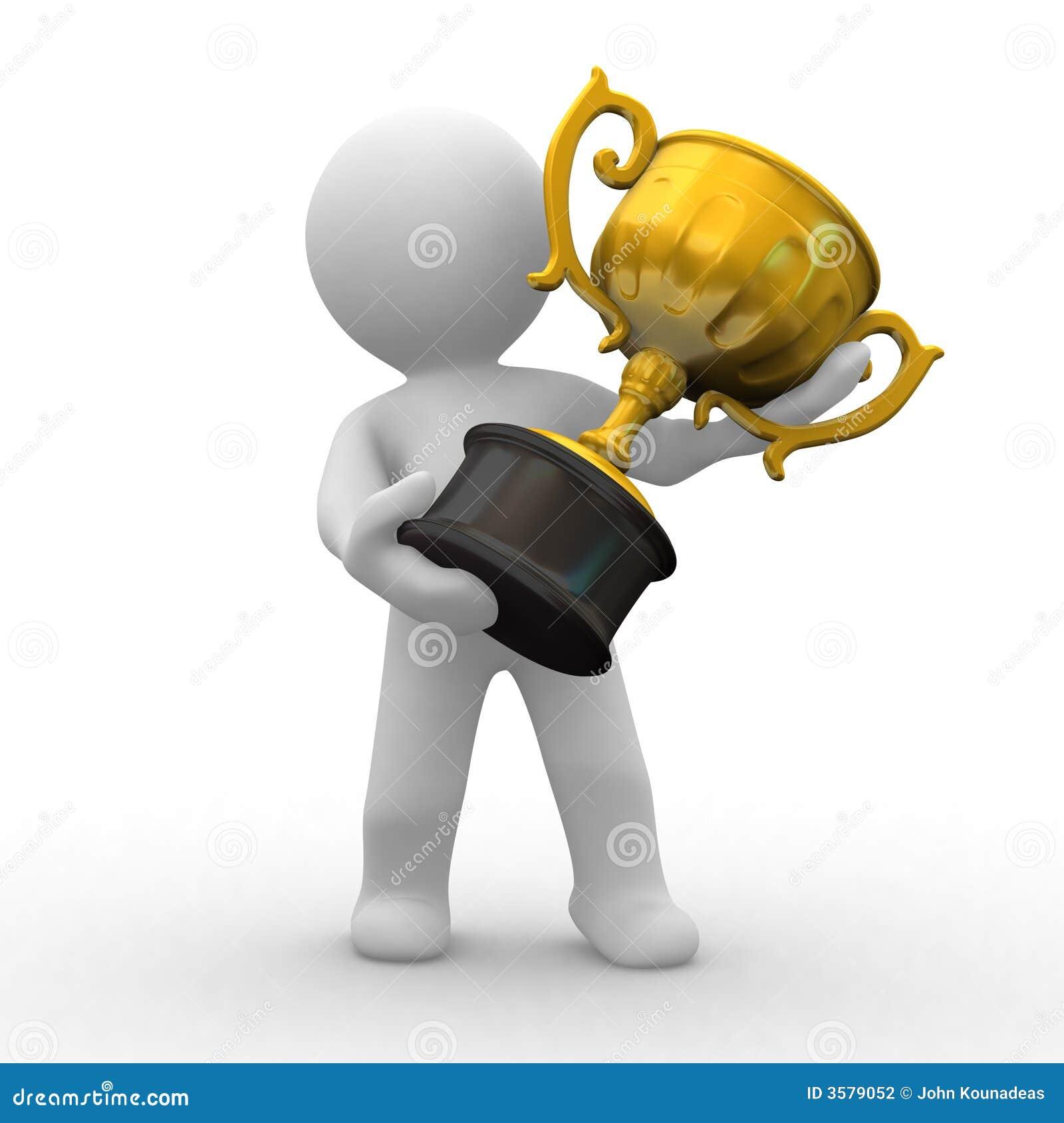 Oro del trofeo