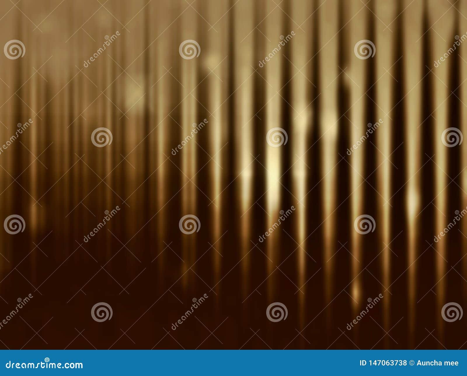 Oro en fondo borroso oscuro Estilo de lujo