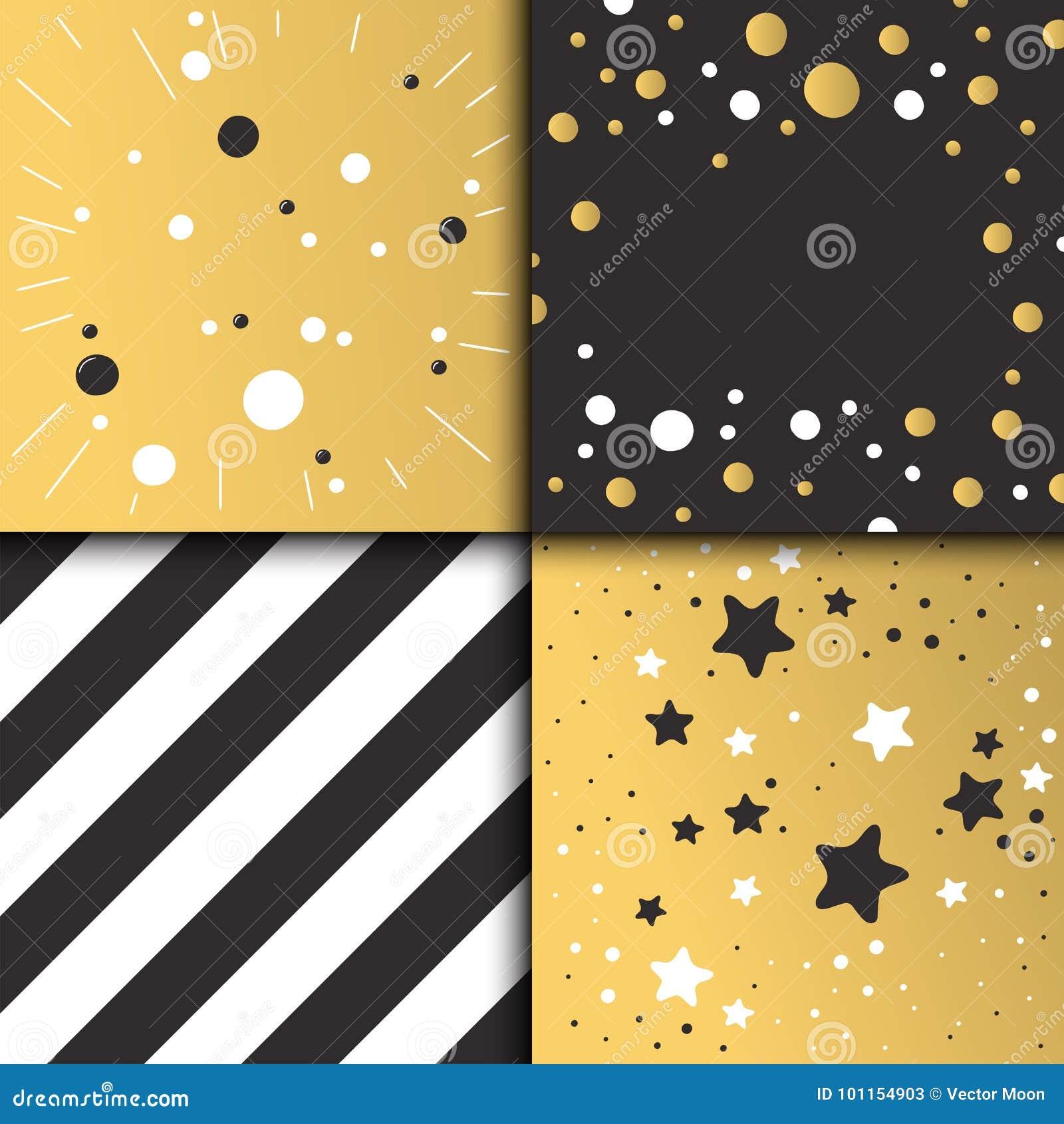 Oro Hermoso Del Diseño De Tarjeta De La Invitación Del