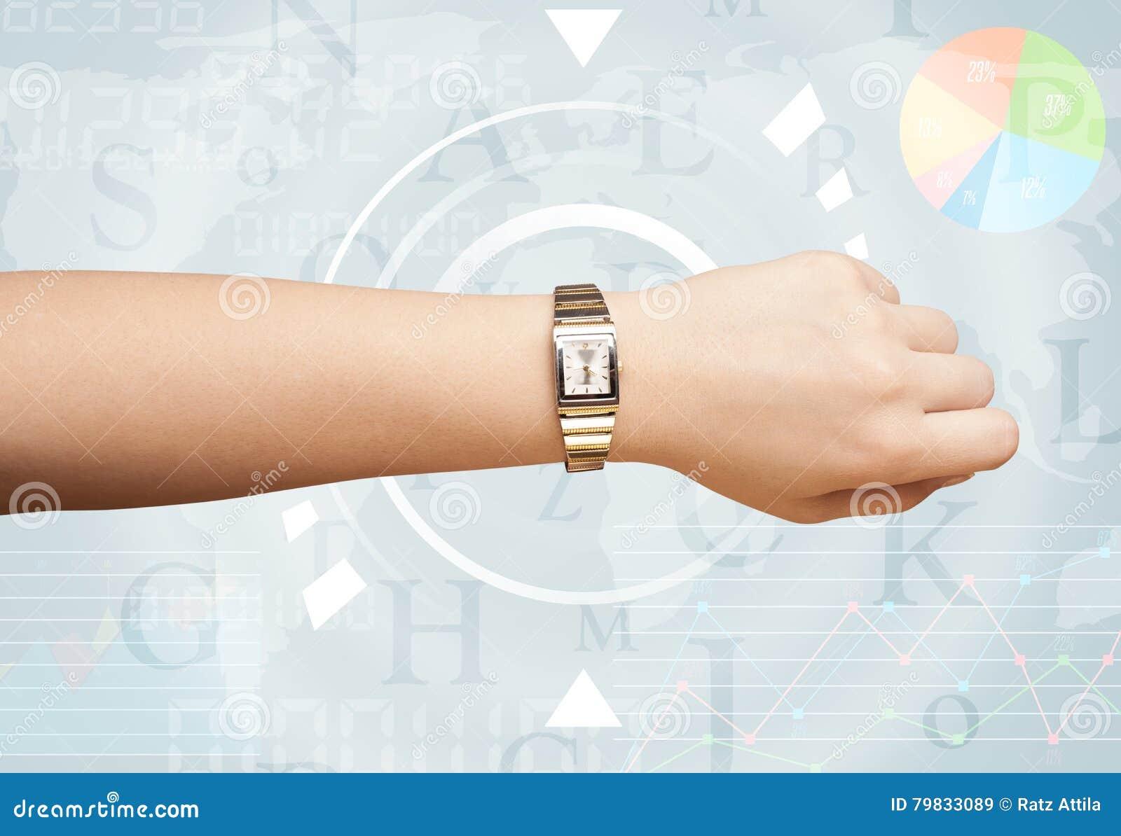 Orologi con tempo del mondo