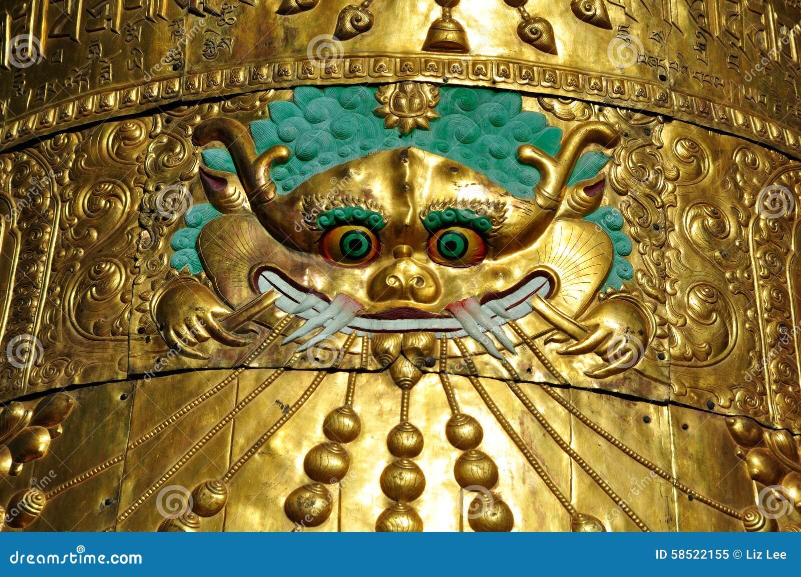 Orologi del tetto su Jokhang