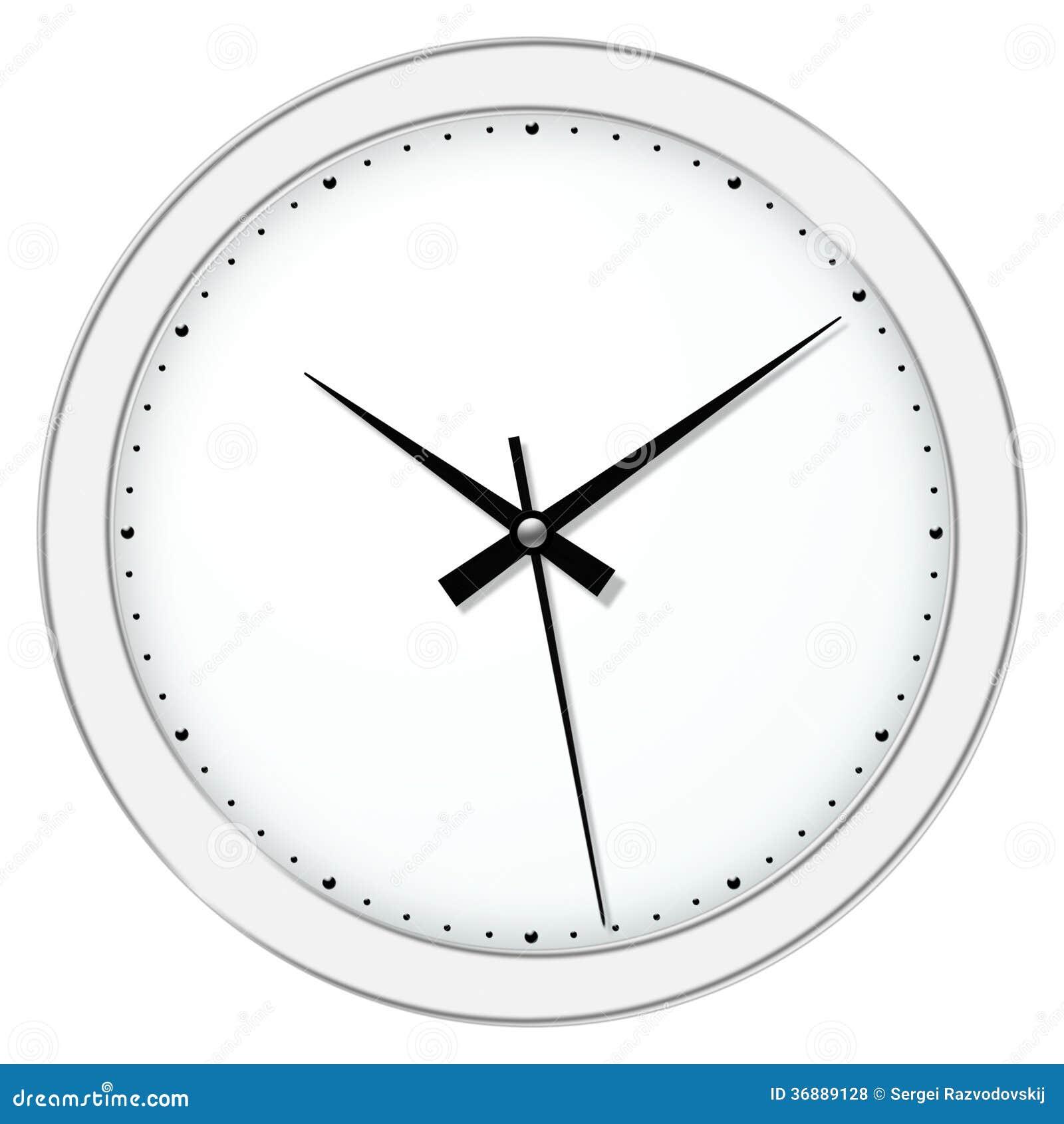 Download Orologio illustrazione di stock. Illustrazione di faccia - 36889128