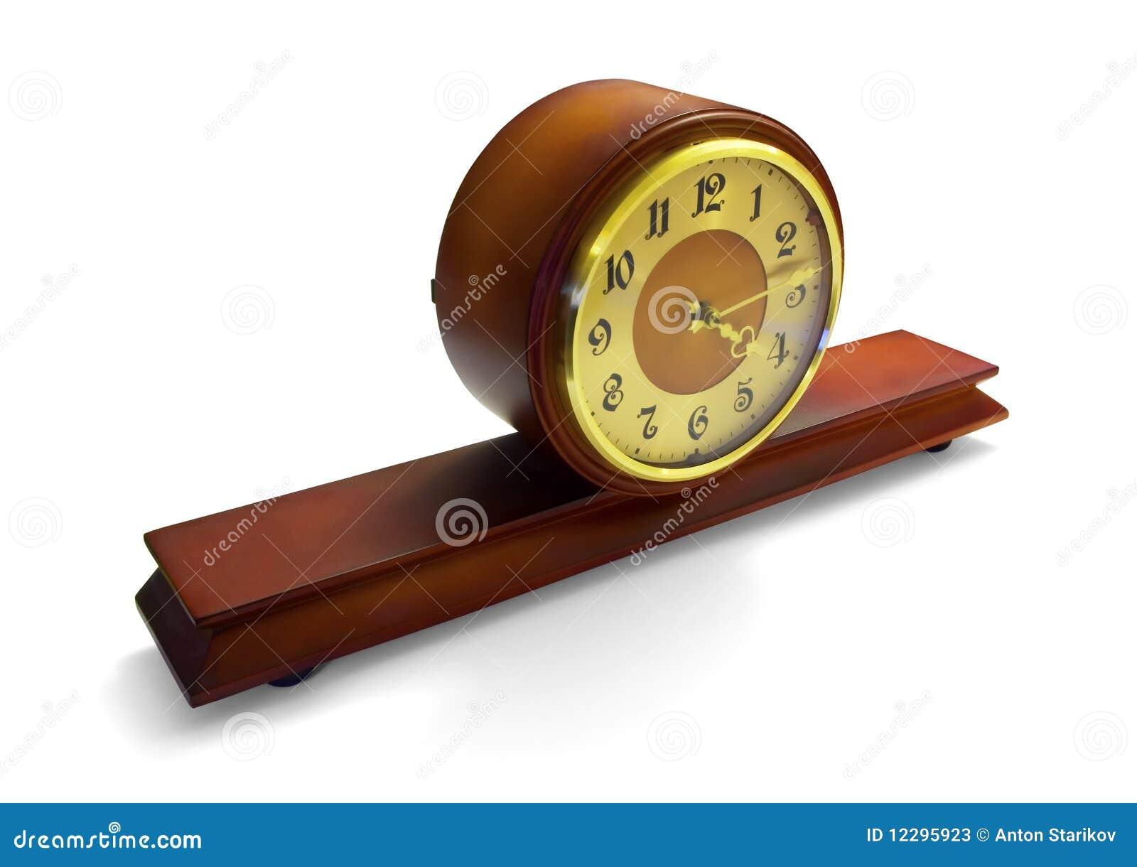 Orologio Antico Del Mantello Fotografie Stock - Immagine: 12295923