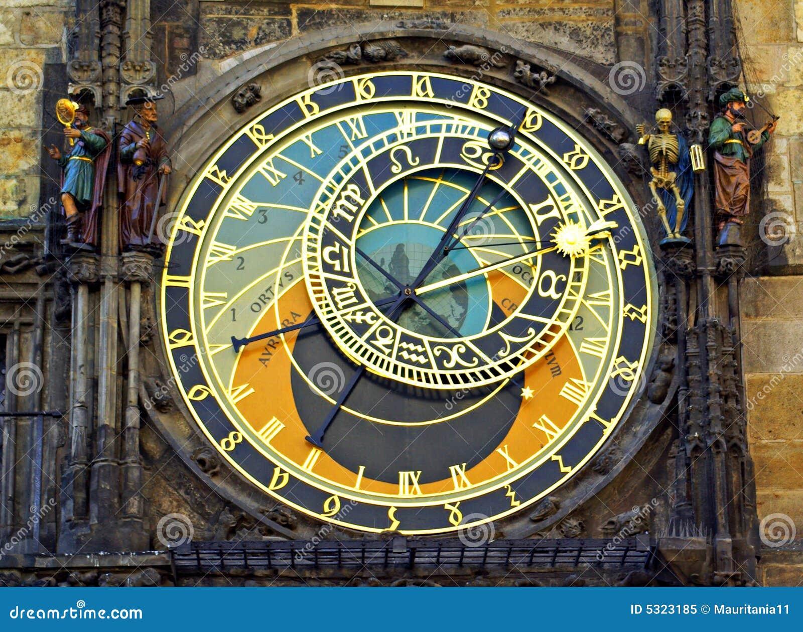 Download Orologio Astronomico A Praga Immagine Stock - Immagine di turismo, astrological: 5323185