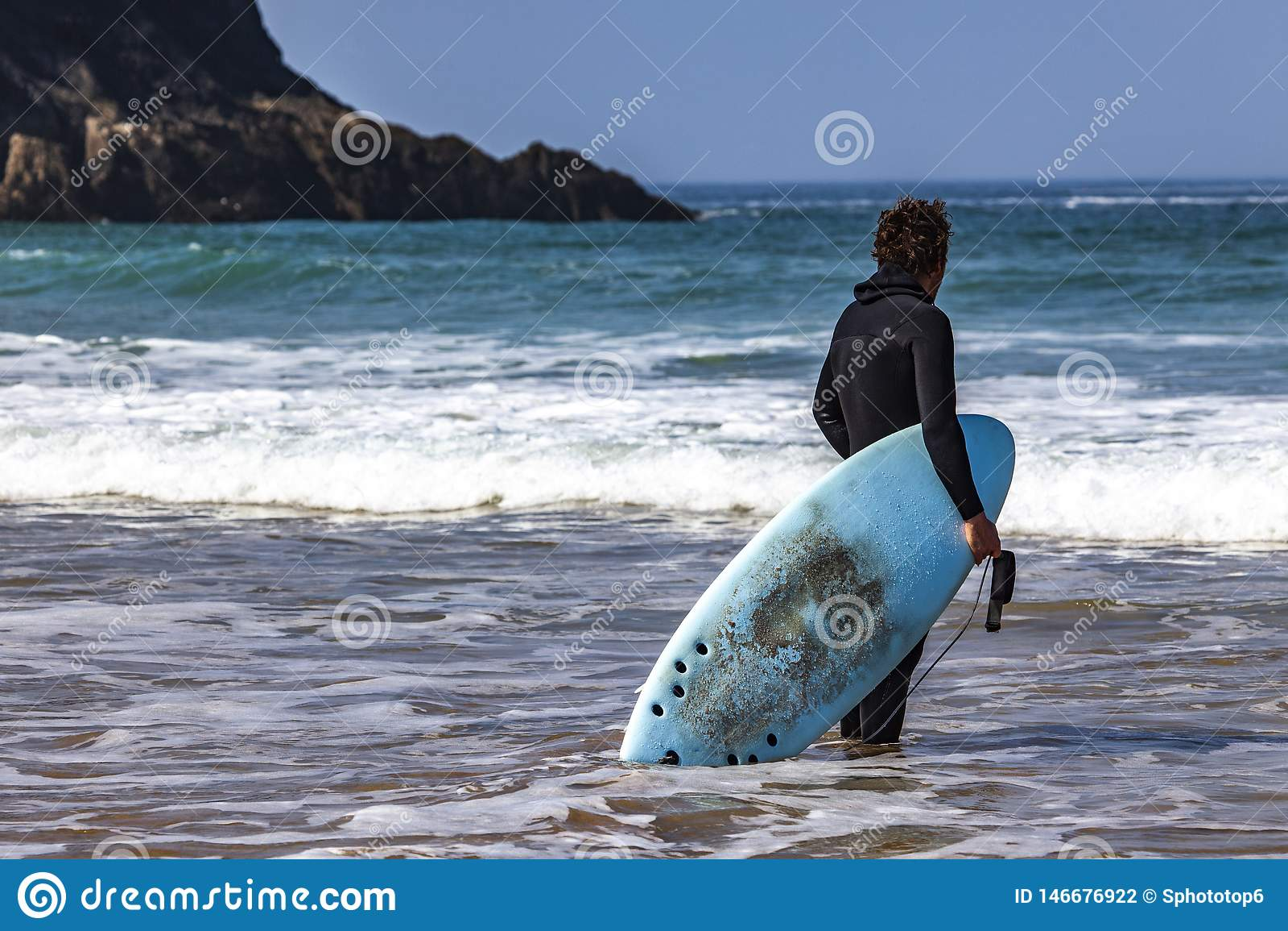 OROLOGIO DEL SURFISTA DENTRO ALL OCEANO