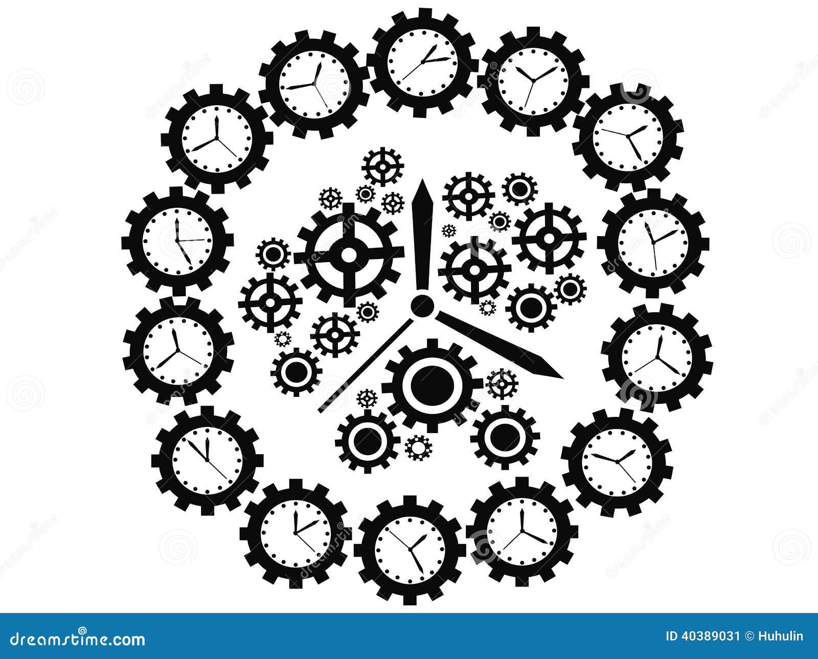 Orologio dell ingranaggio