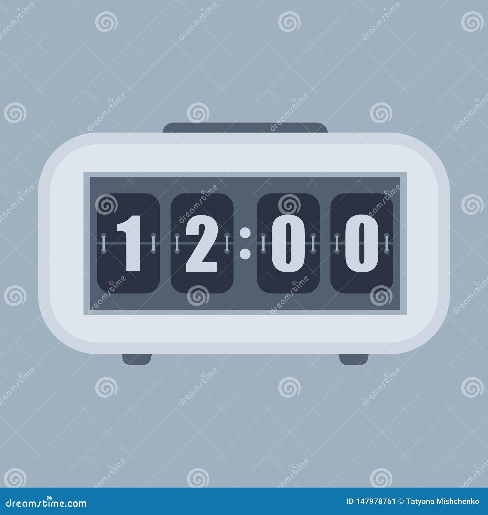 Orologio di vibrazione della Tabella o della parete, contro modello di numero
