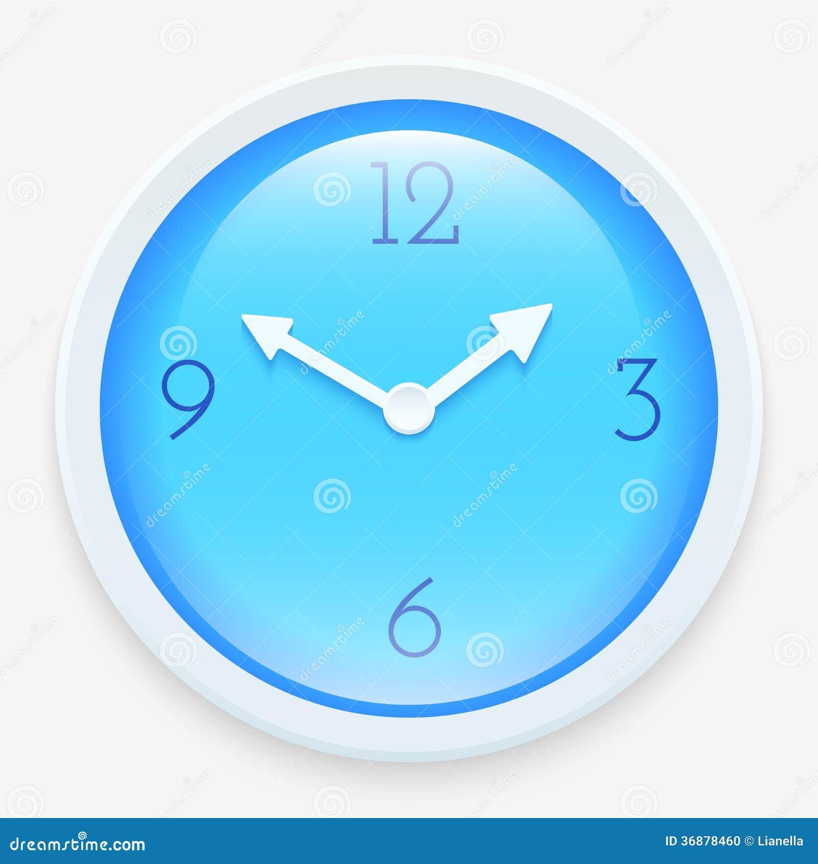 Download Orologio moderno illustrazione vettoriale. Illustrazione di freccia - 36878460